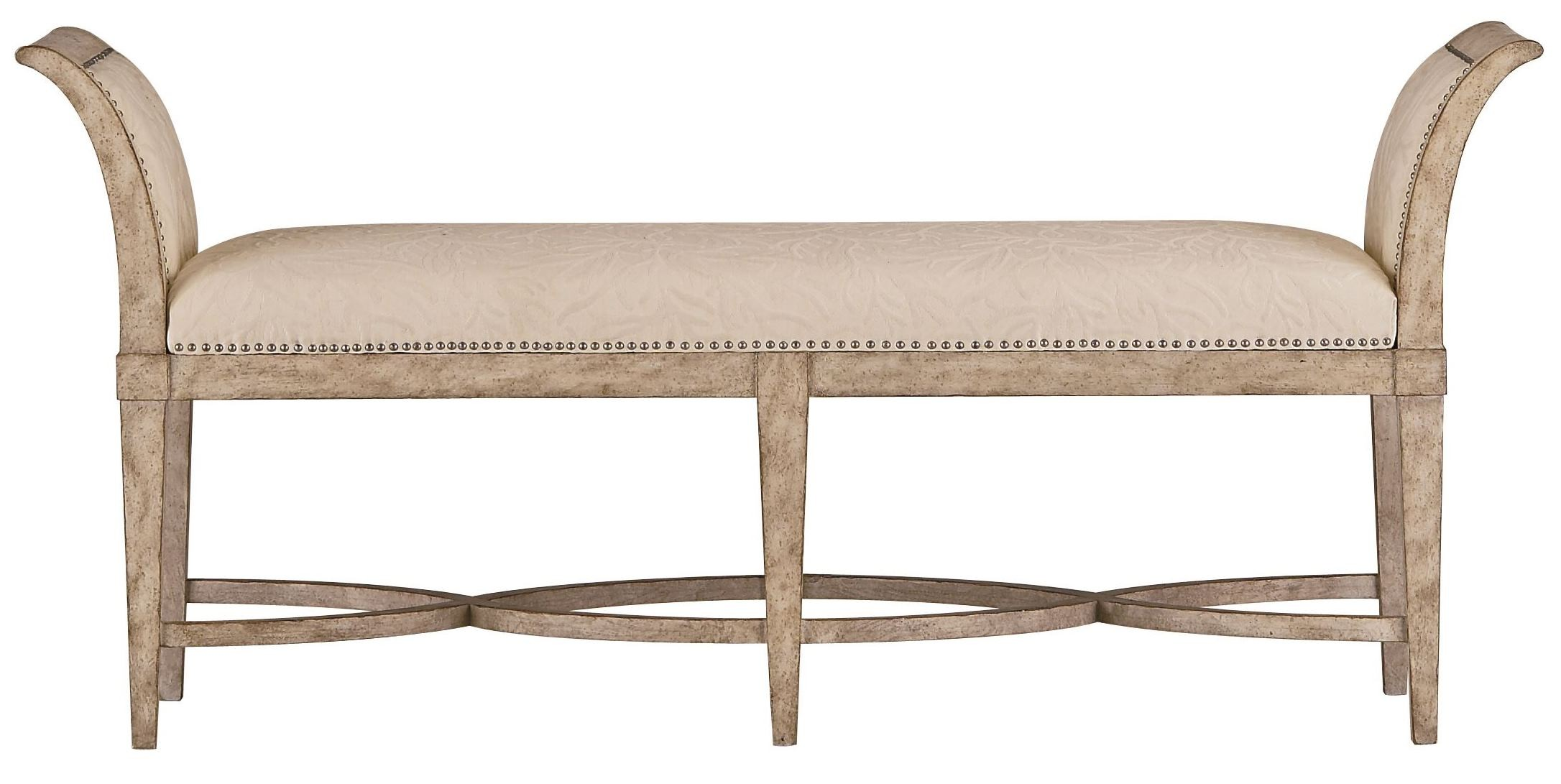 Coastal Living Resort Sandy Linen Surfside Bed End Bench From Coastal Living 062 23 72