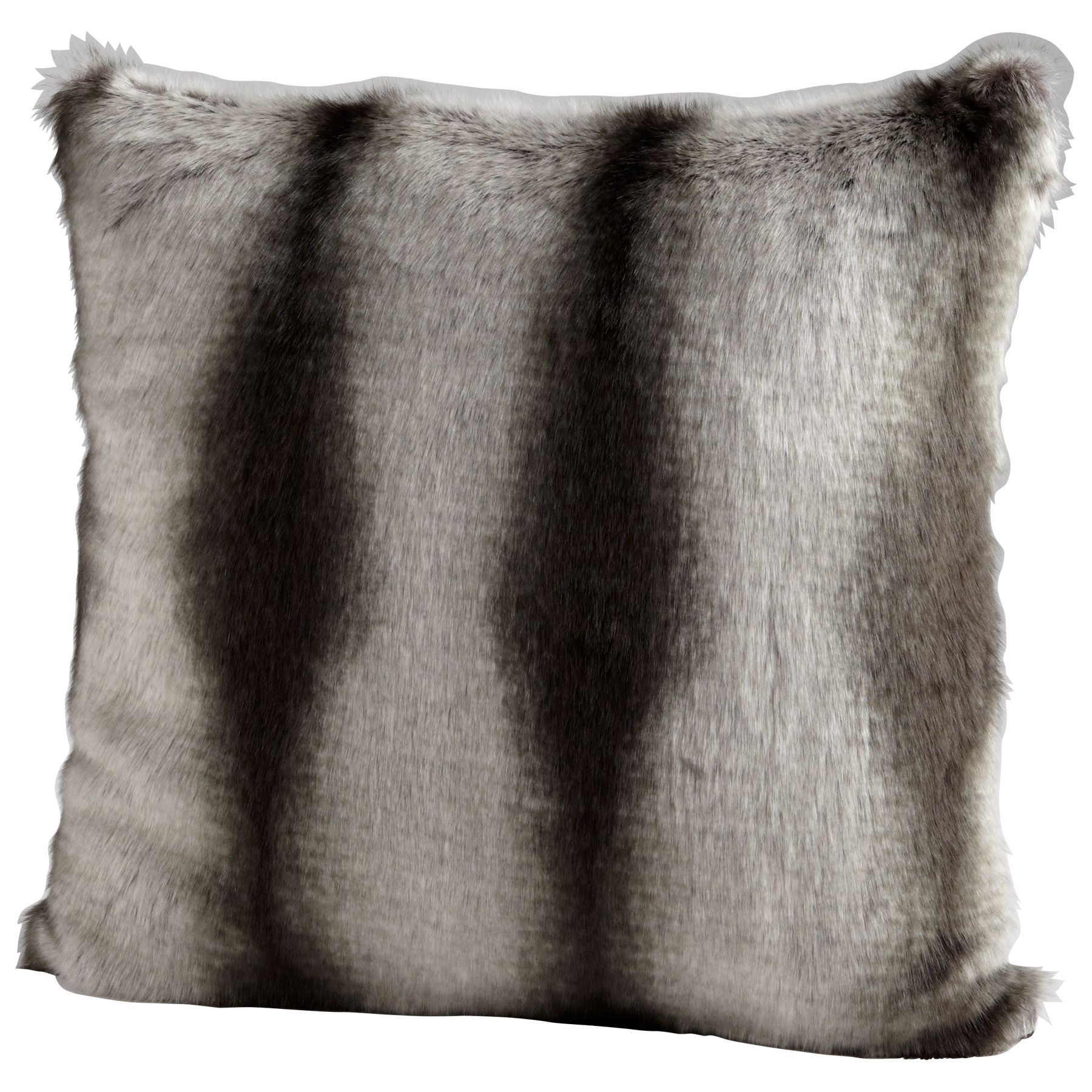 Faux Deerskin Pillow : Faux Chinchilla Pillow from Cyan Design (6537) Coleman Furniture