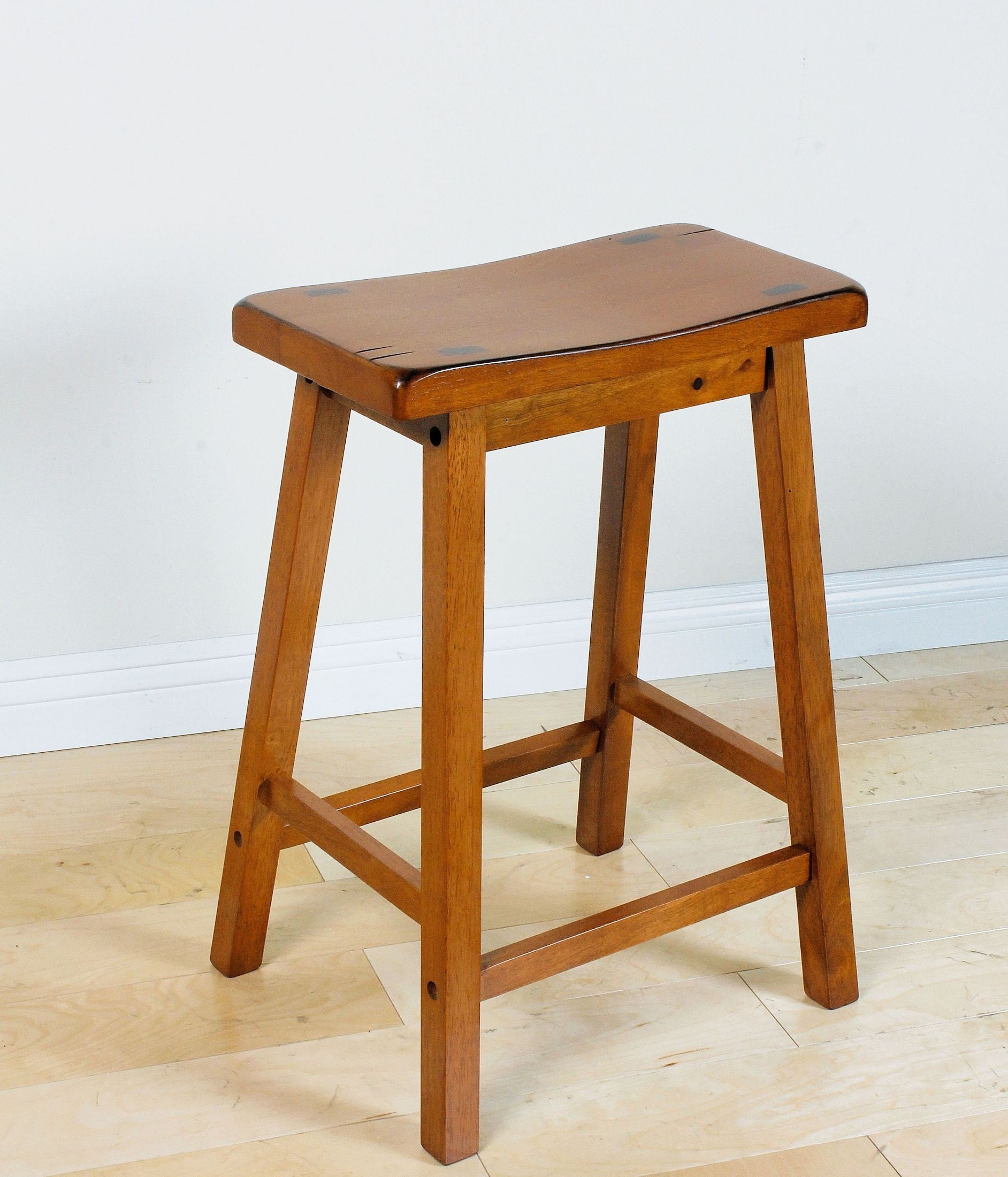 oak counter stool gaucho oak counter height stool set of 2 from acme 1131