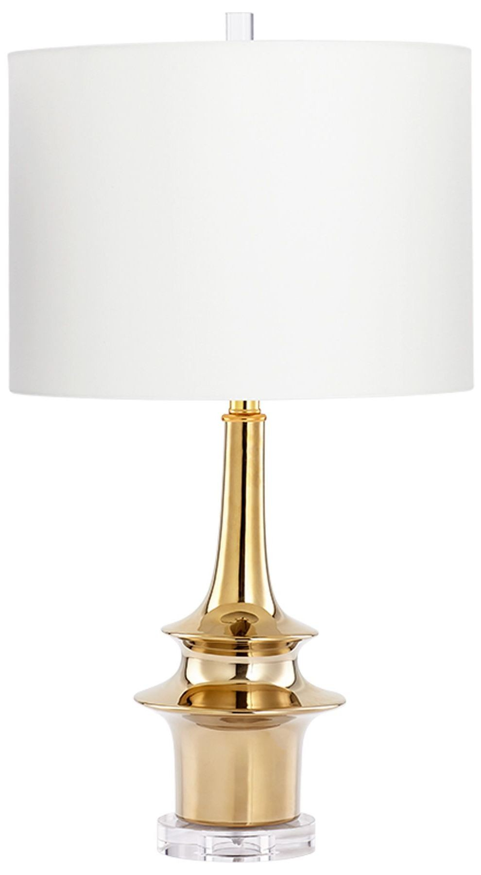 wahoo gold table lamp from cyan design coleman furniture. Black Bedroom Furniture Sets. Home Design Ideas
