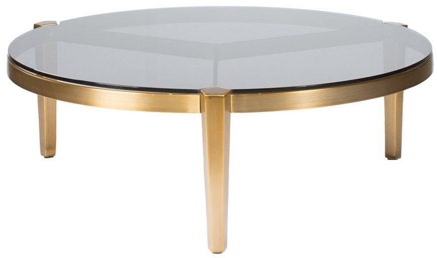 Milano Gold And Silver Large Coffee Table From Curations Limited Coleman Furniture