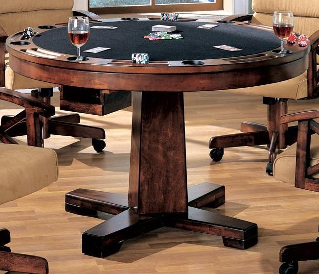 Marietta Black Convertible Bumper Pool Poker Dining Table From Coaster 100171 Coleman