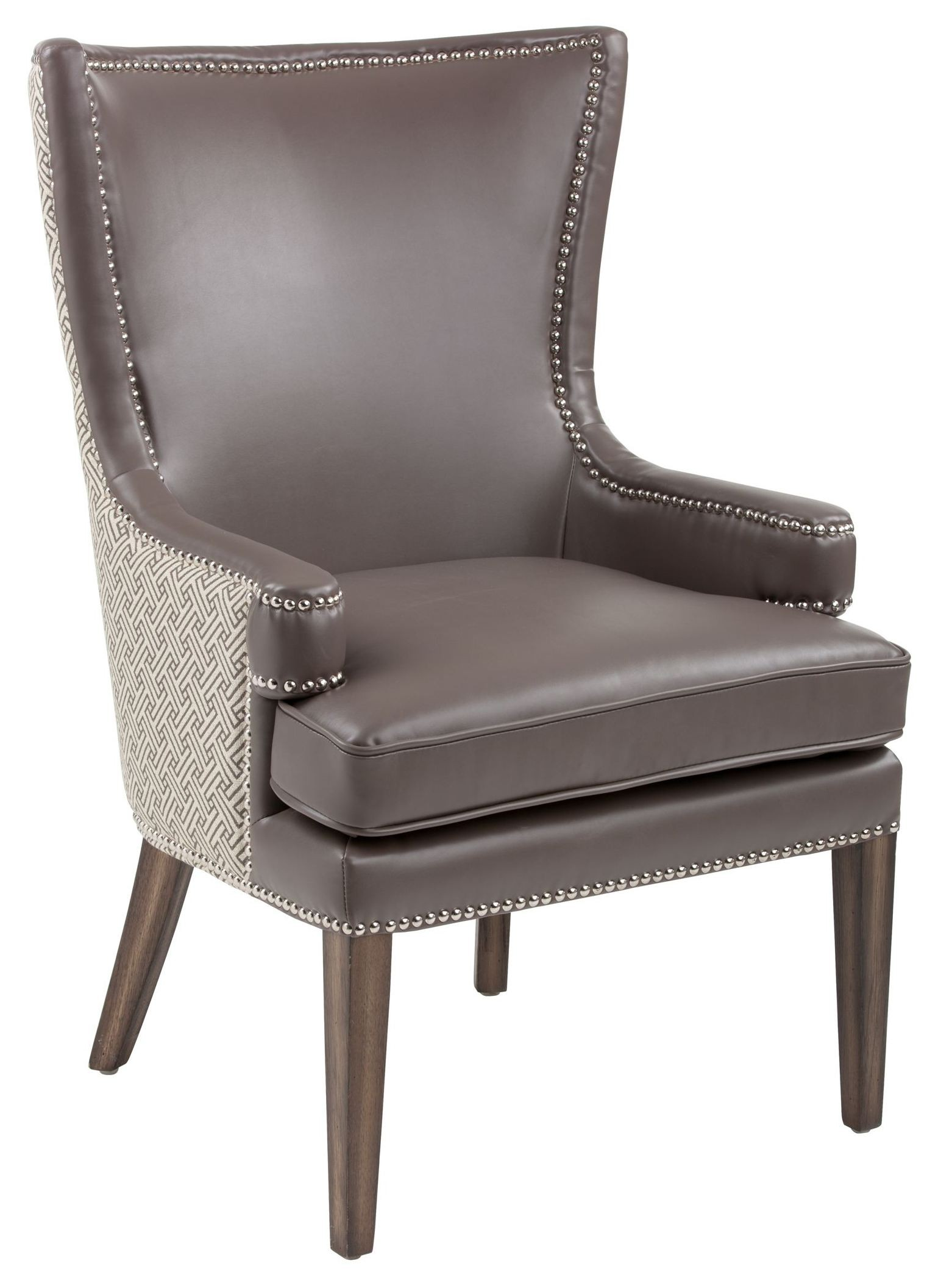 Awesome Rioja Dove Grey And Stencil Grey Fabric Armchair