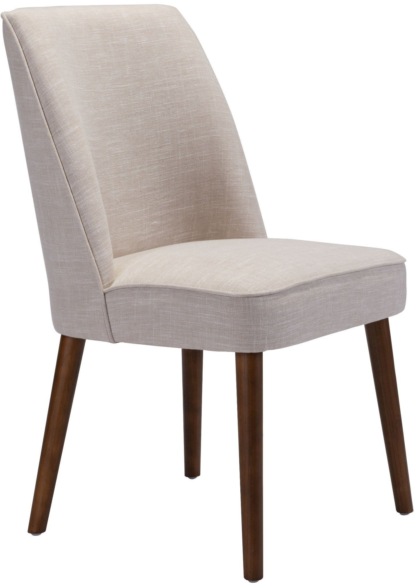 Kennedy Beige Dining Chair Set Of 2 From Zuo Coleman