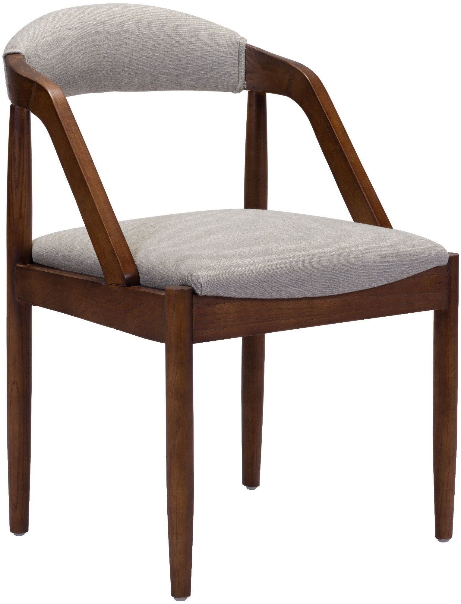 Jefferson Light Gray Dining Chair Set Of 2 From Zuo