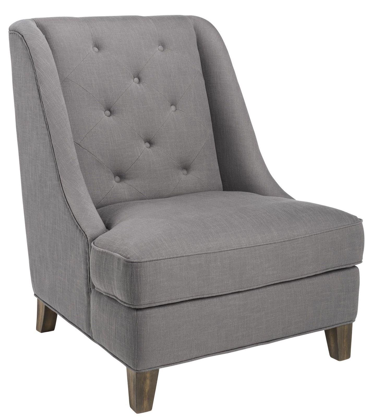 Selfridge Rhino Grey Fabric Armchair from Sunpan | Coleman ...