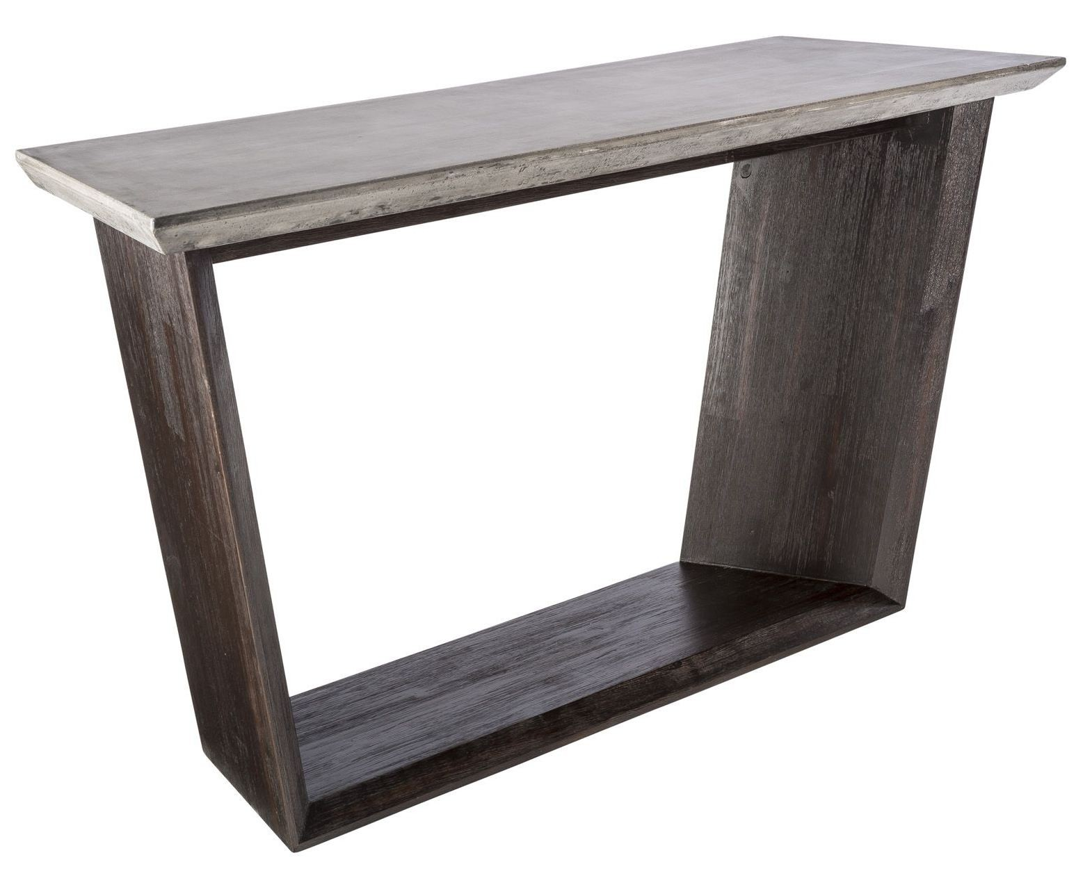 Langley coffee bean console table from sunpan coleman furniture Console coffee table