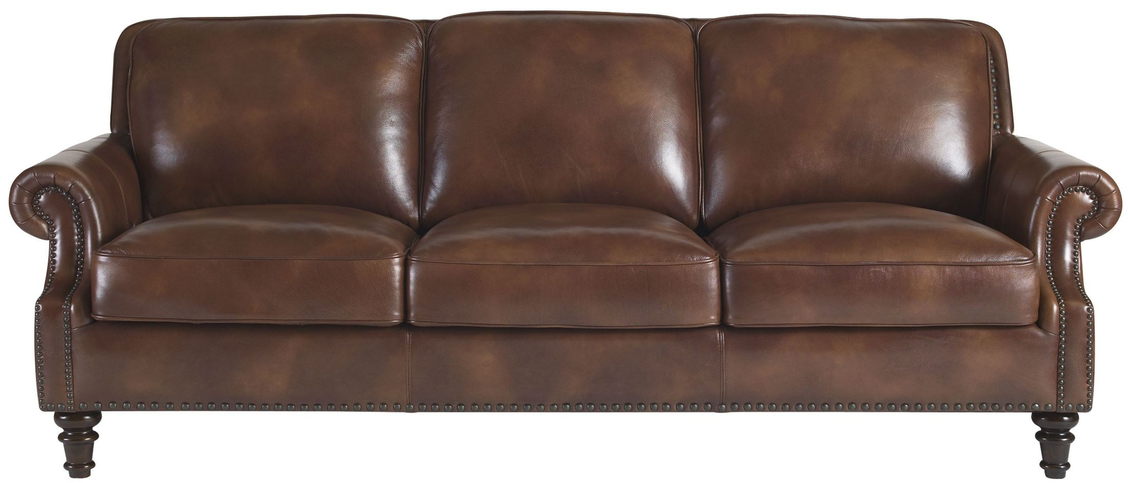 Bentley Rustic Sauvage Leather Sofa From Lazzaro Wh 1009