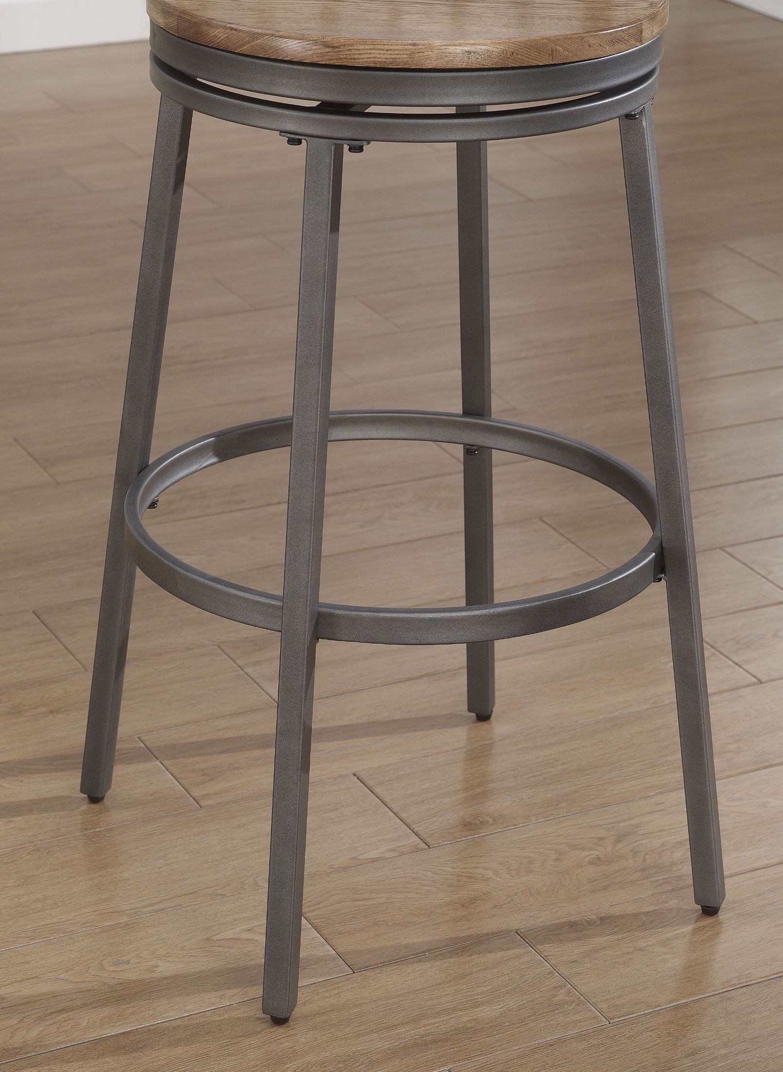 B1 100 25w Metal Frame Backless Bar Stool From American