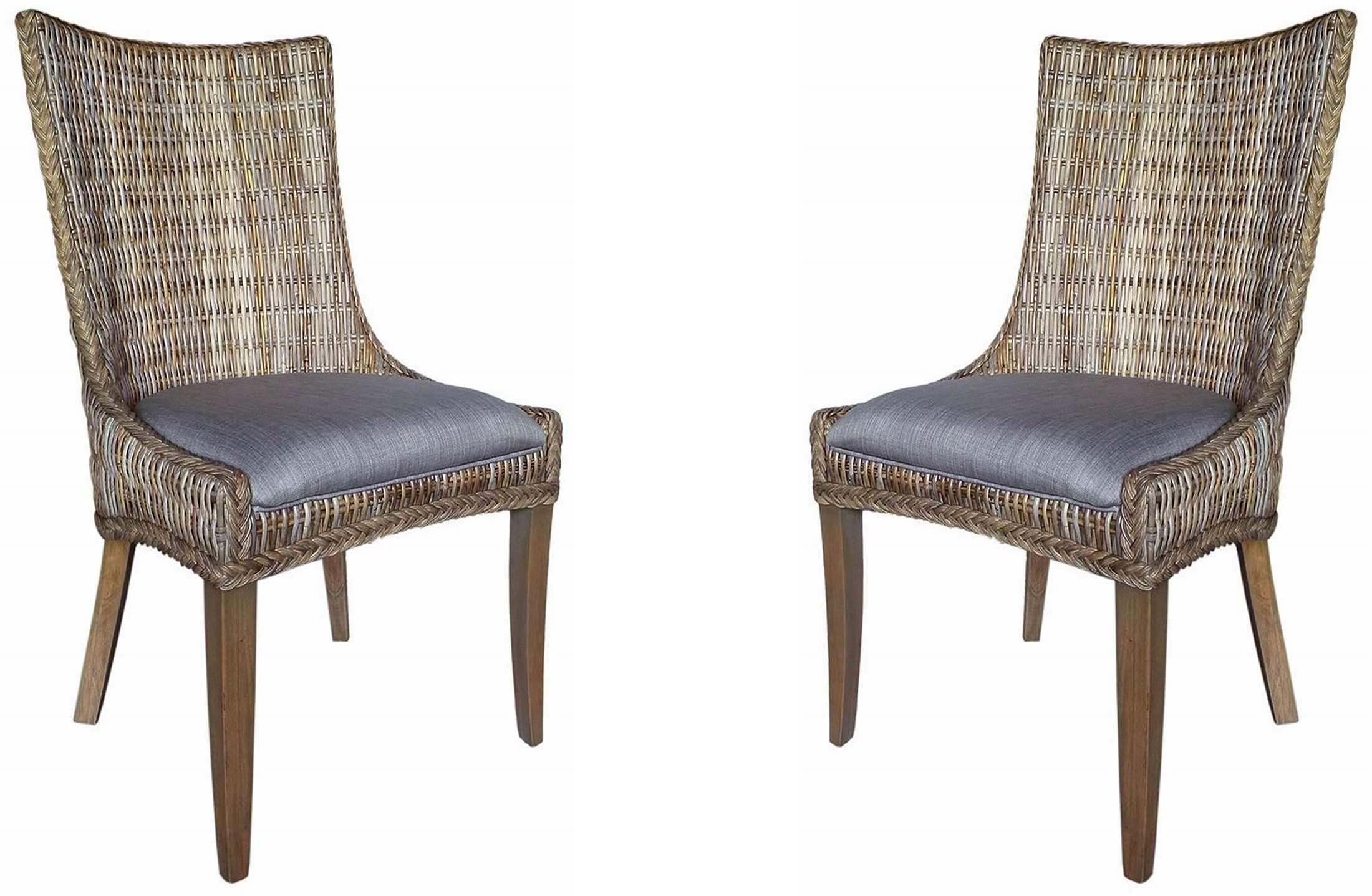 Matisse Woven Dining Side Chair Set of 2 from Coaster ...