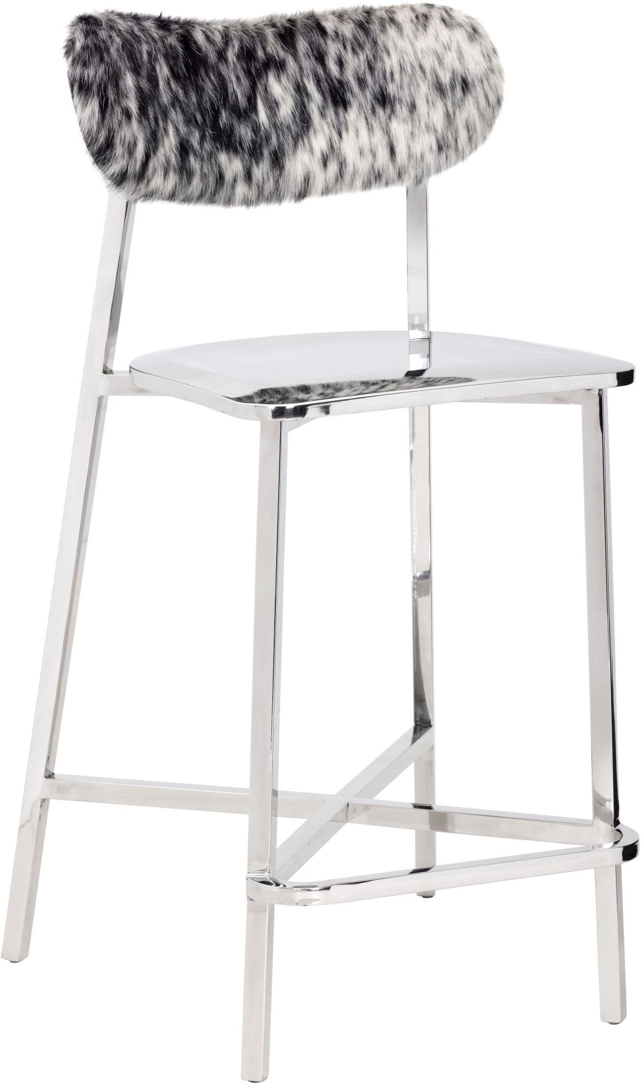 Stanley Cowhide Counter Stool From Sunpan Coleman Furniture