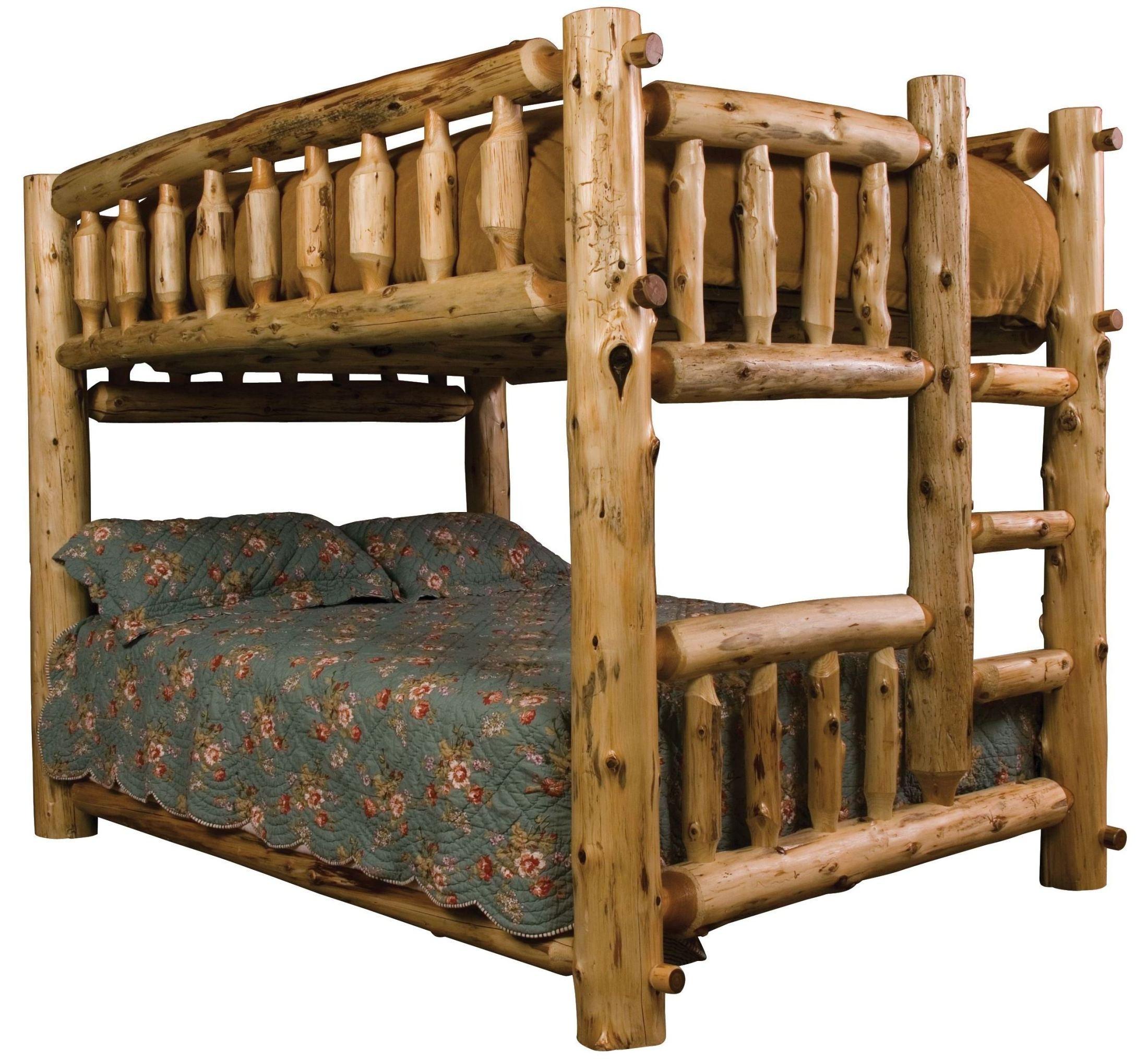 Cedar Right Full Over Full Bunk Bed From Fireside Lodge