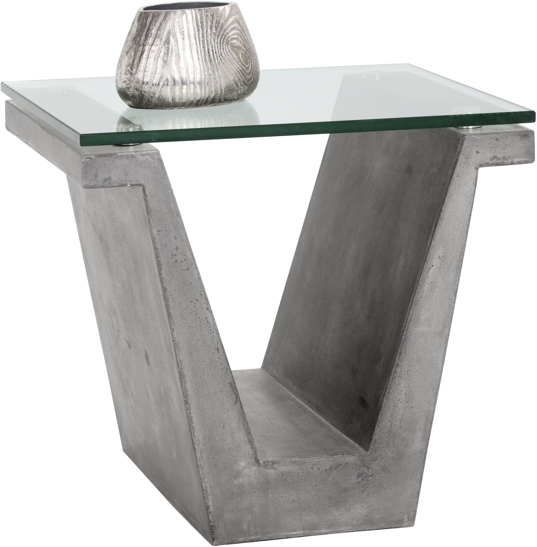 Jasper Grey Concrete End Table