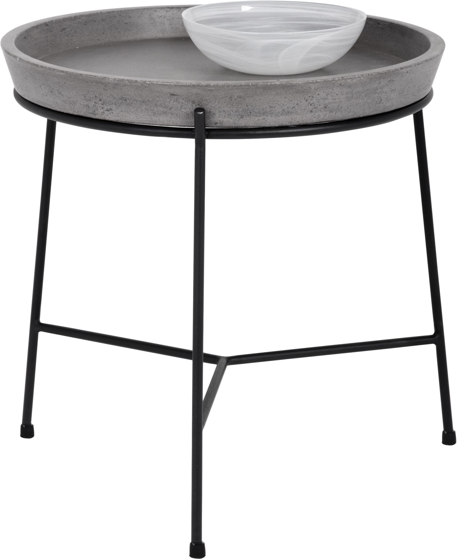Remy Grey Concrete End Table