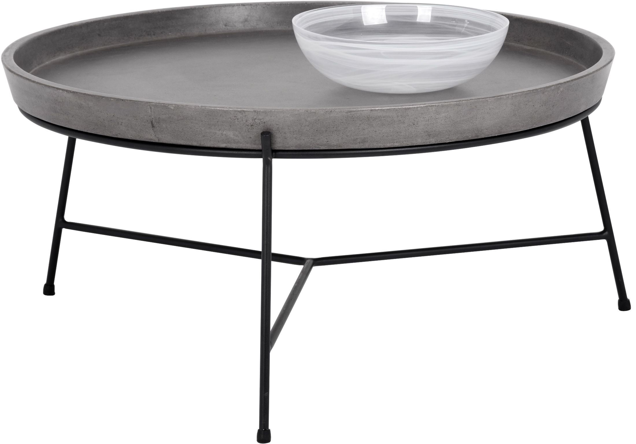 Remy Grey Concrete Coffee Table From Sunpan Coleman Furniture