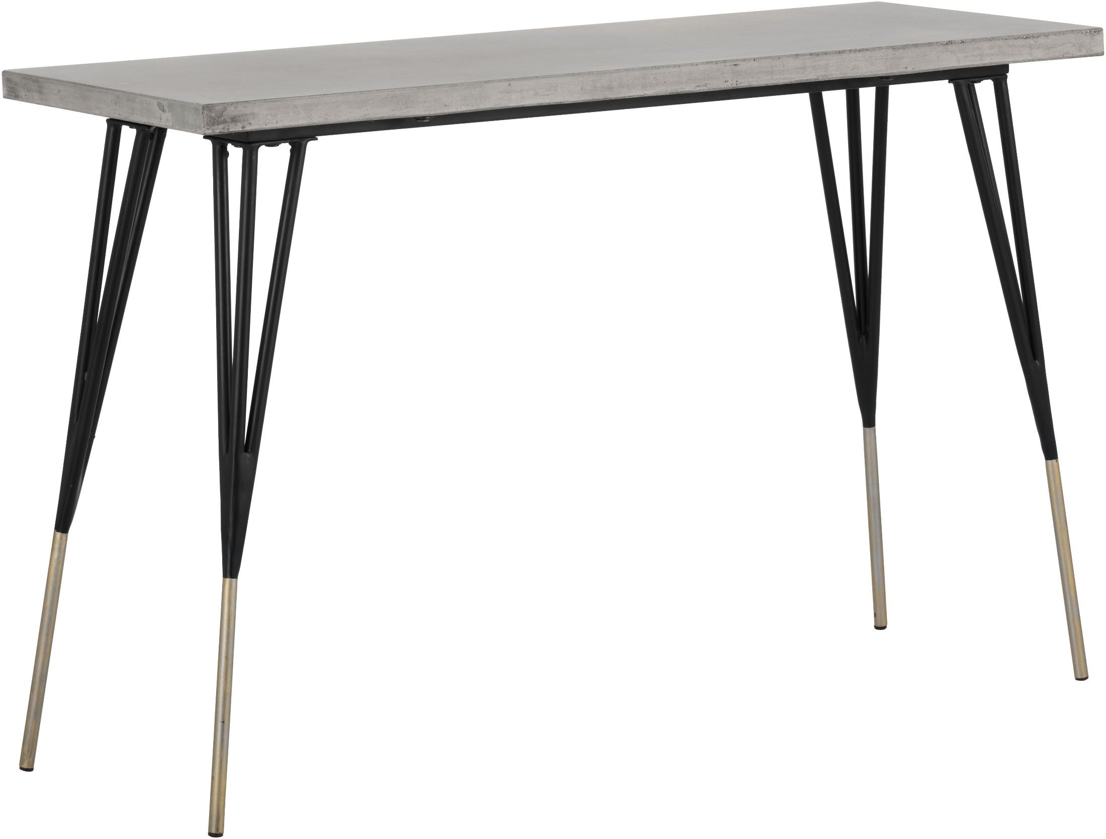 Midori black console table 101901 sunpan modern home - Console table d appoint ...