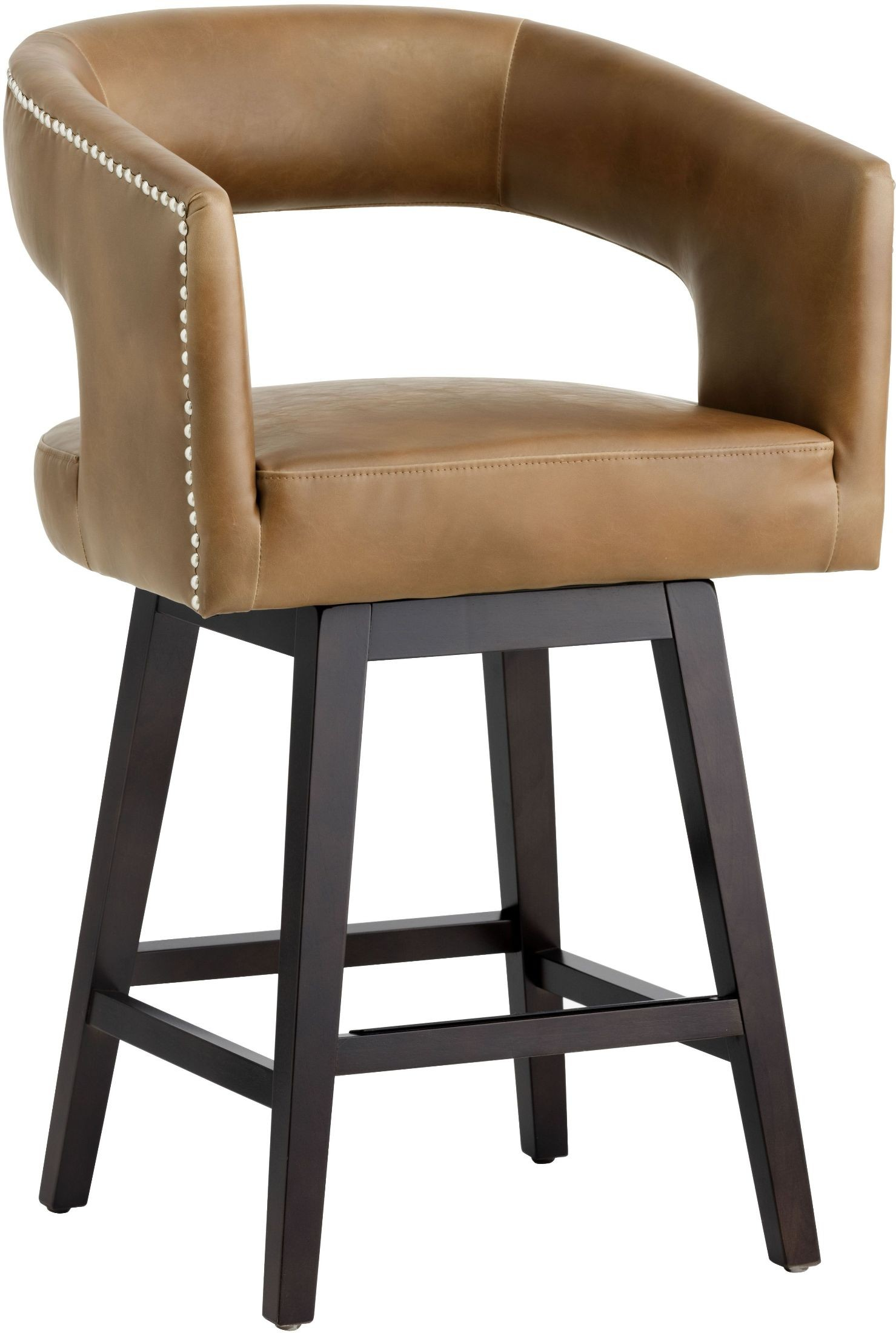 Draco Tobacco Tan Counter Stool From Sunpan Coleman