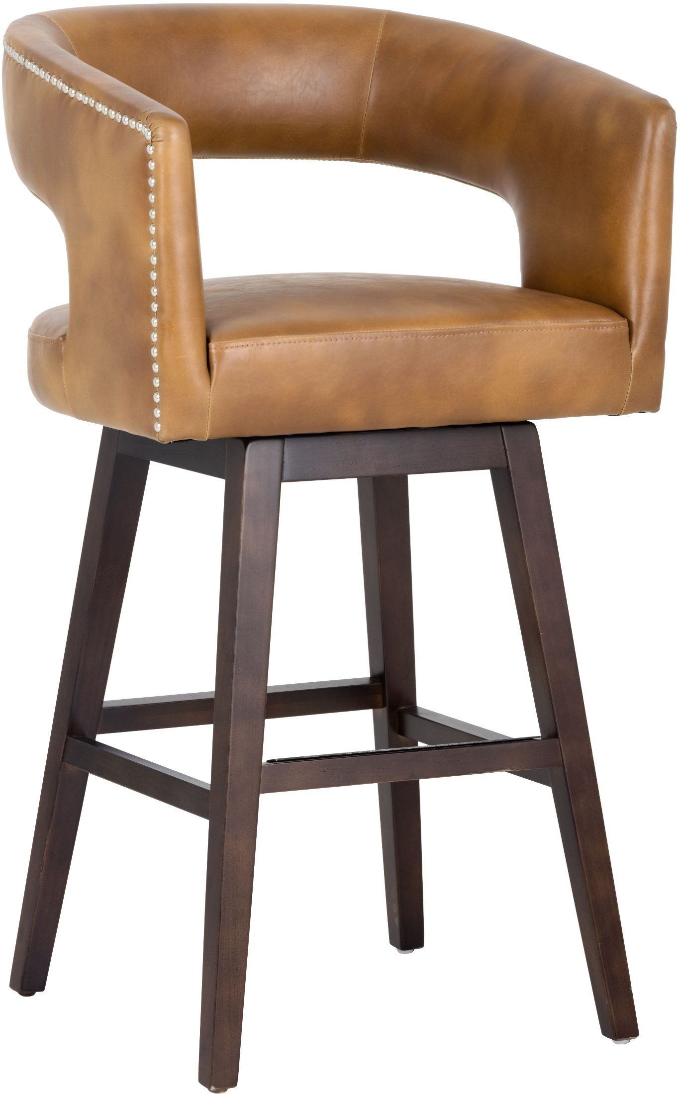 Draco Tobacco Tan Barstool From Sunpan Coleman Furniture