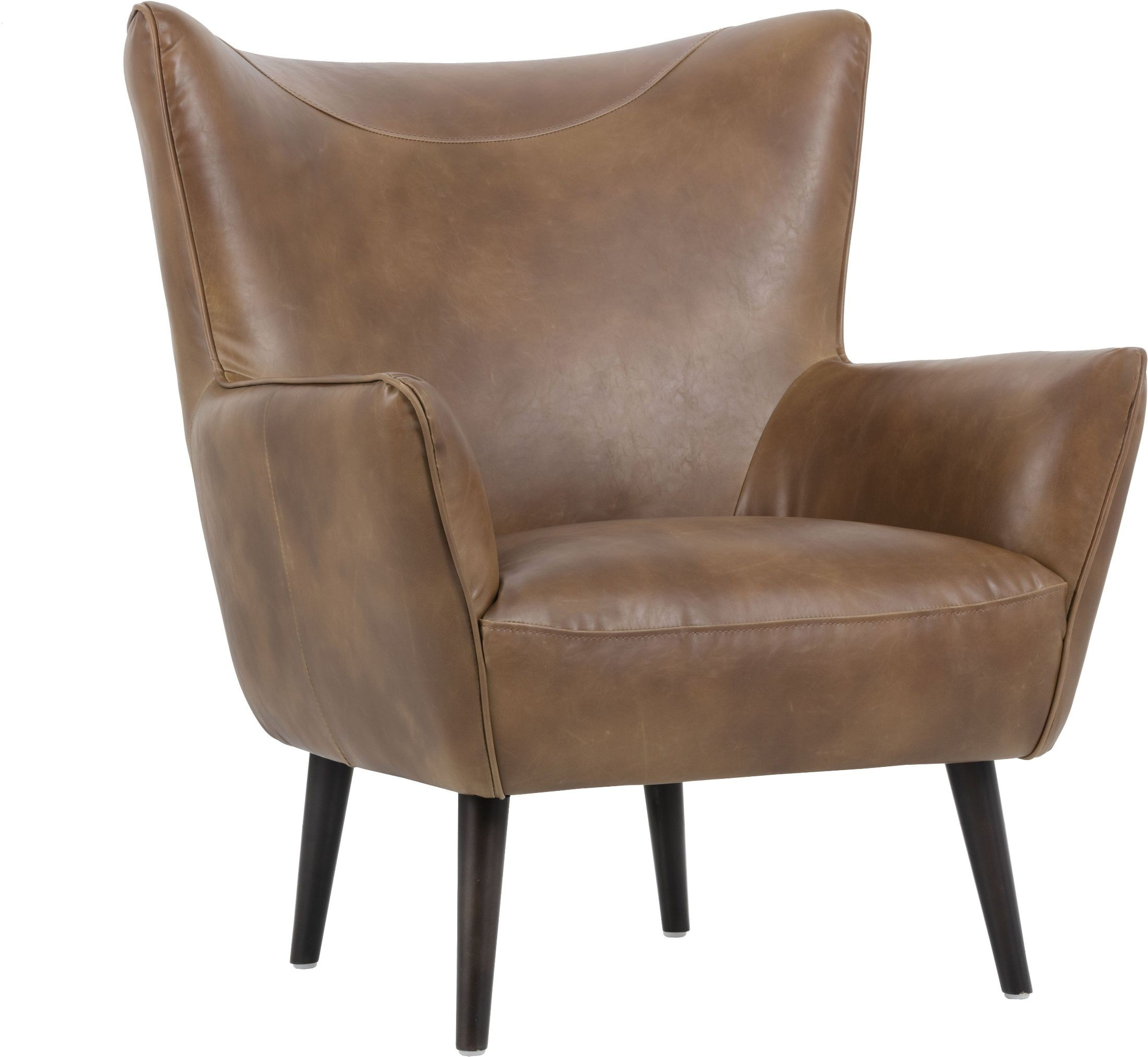 Luther Tobacco Tan Occasional Chair 101966 Sunpan Modern