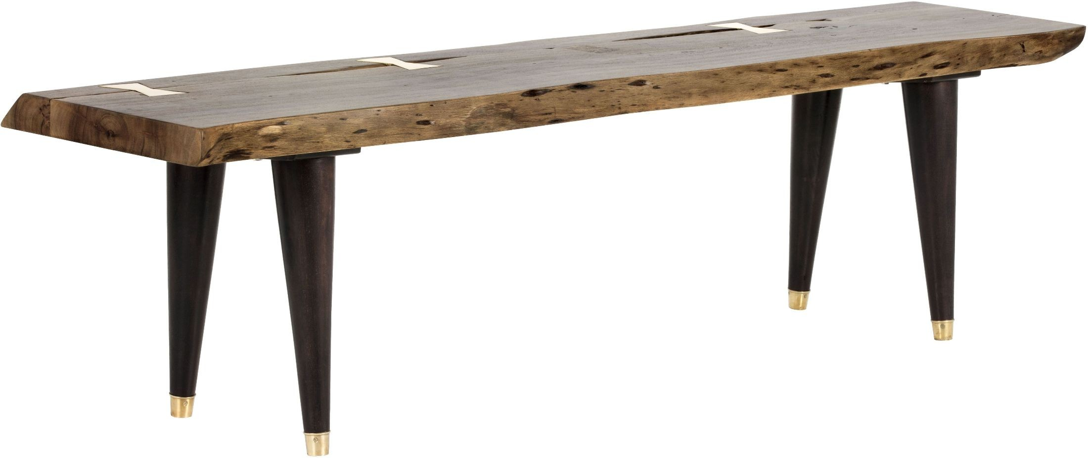 how to make a live edge bench