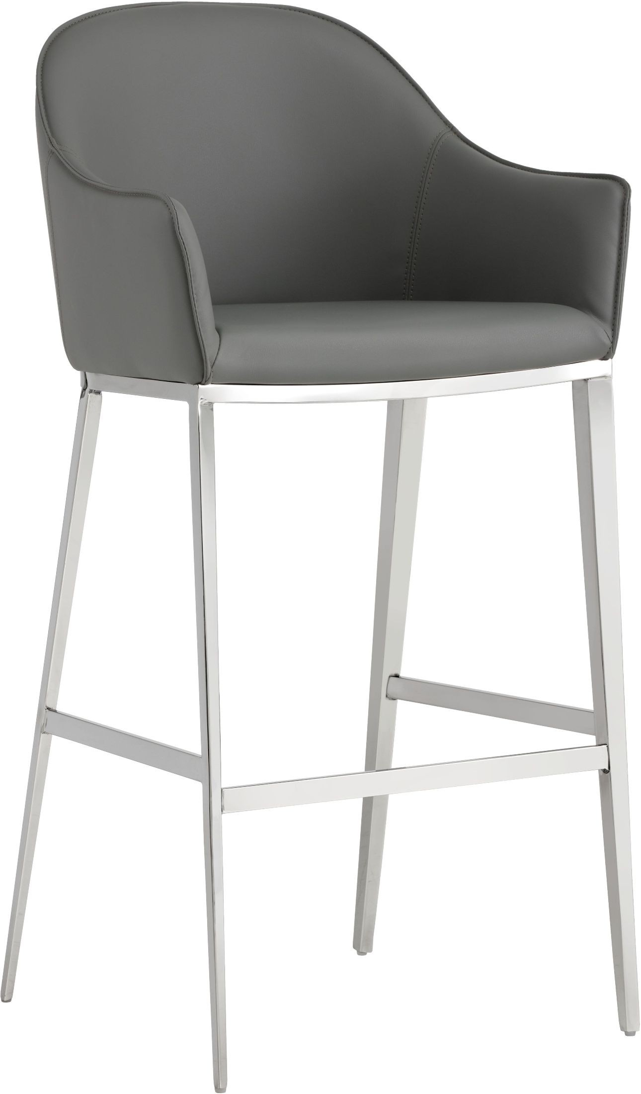 Ikon Stanis Gray Barstool Set Of 2 From Sunpan Coleman