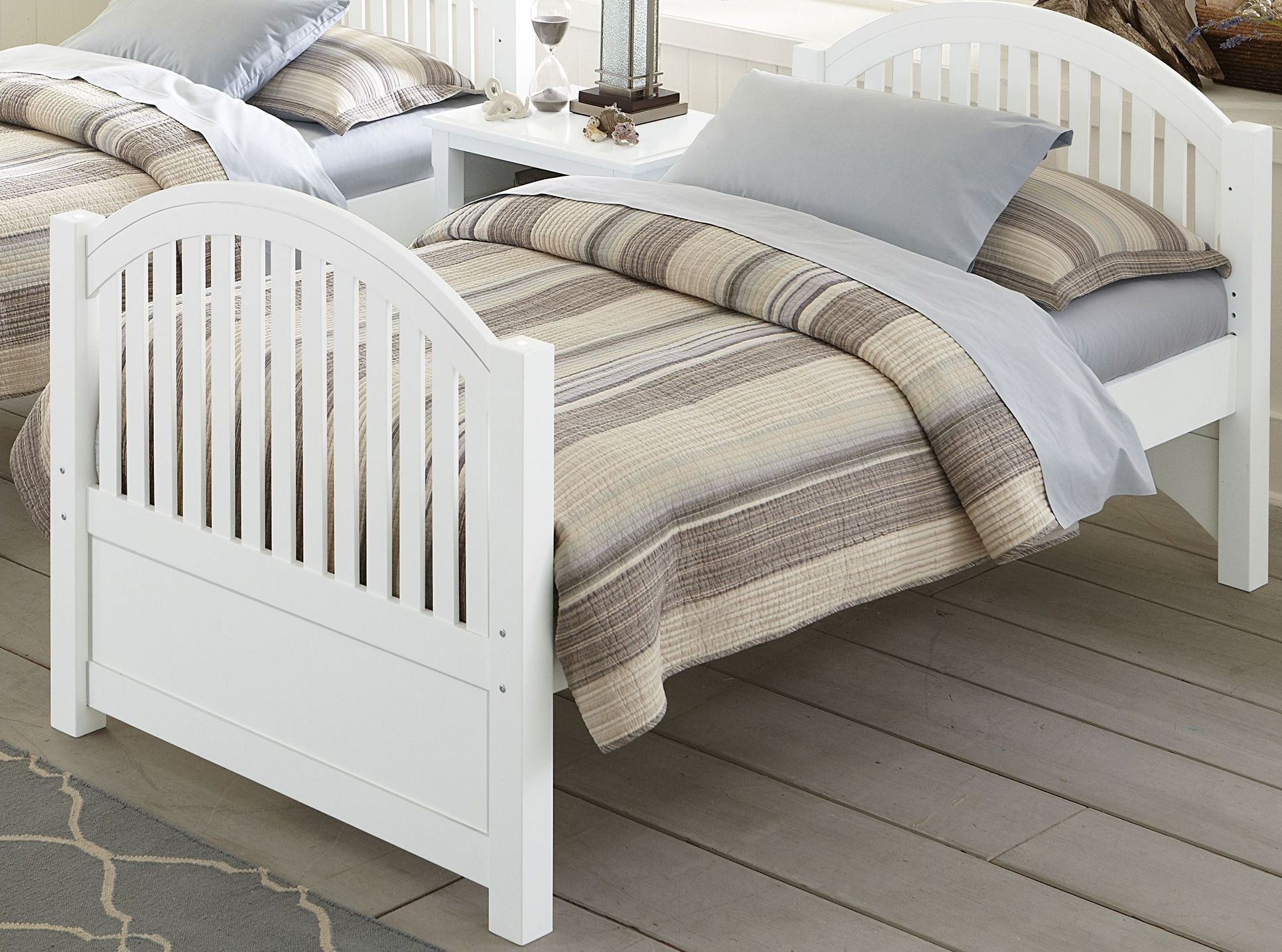 Lake house white adrian youth panel bedroom set from ne kids coleman furniture Lake home bedroom furniture
