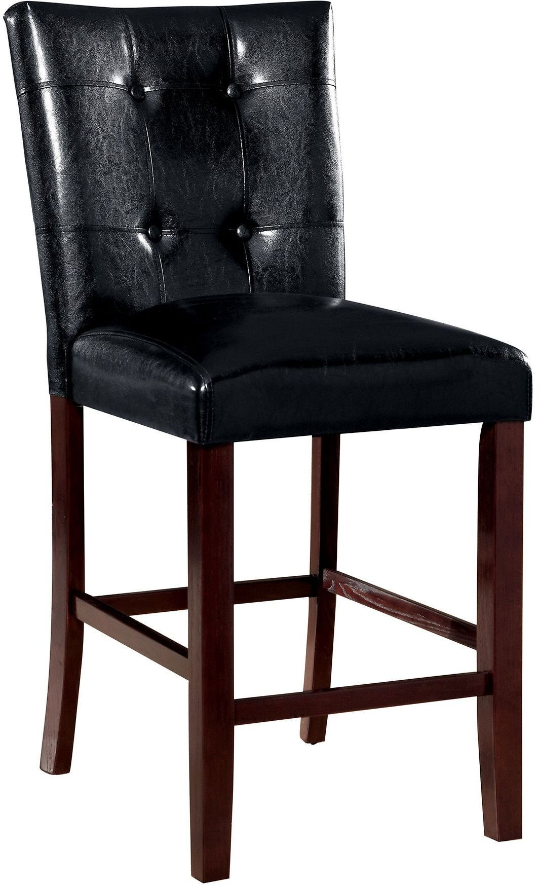 Ducey Dark Brown Counter Height Stool Set Of 2 From