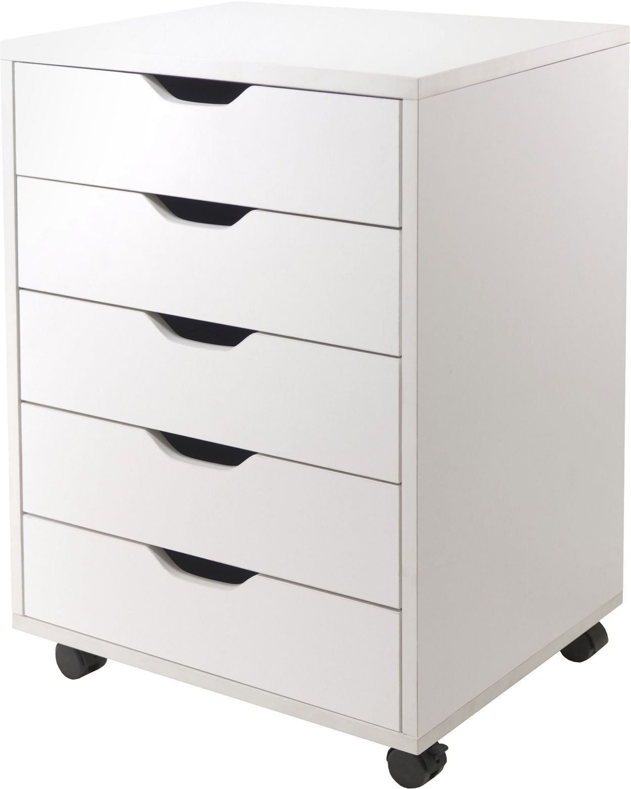 Halifax White 5 Drawer Cabinet From WinsomeWood