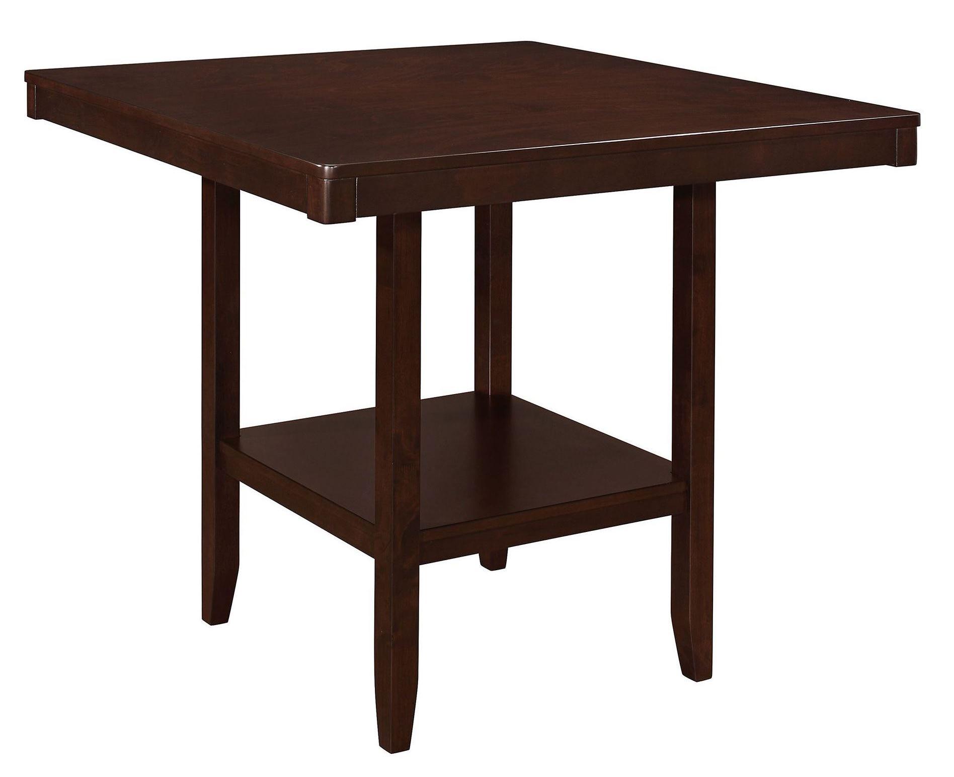 Fattori Espresso Counter Height Dining Table From Coaster