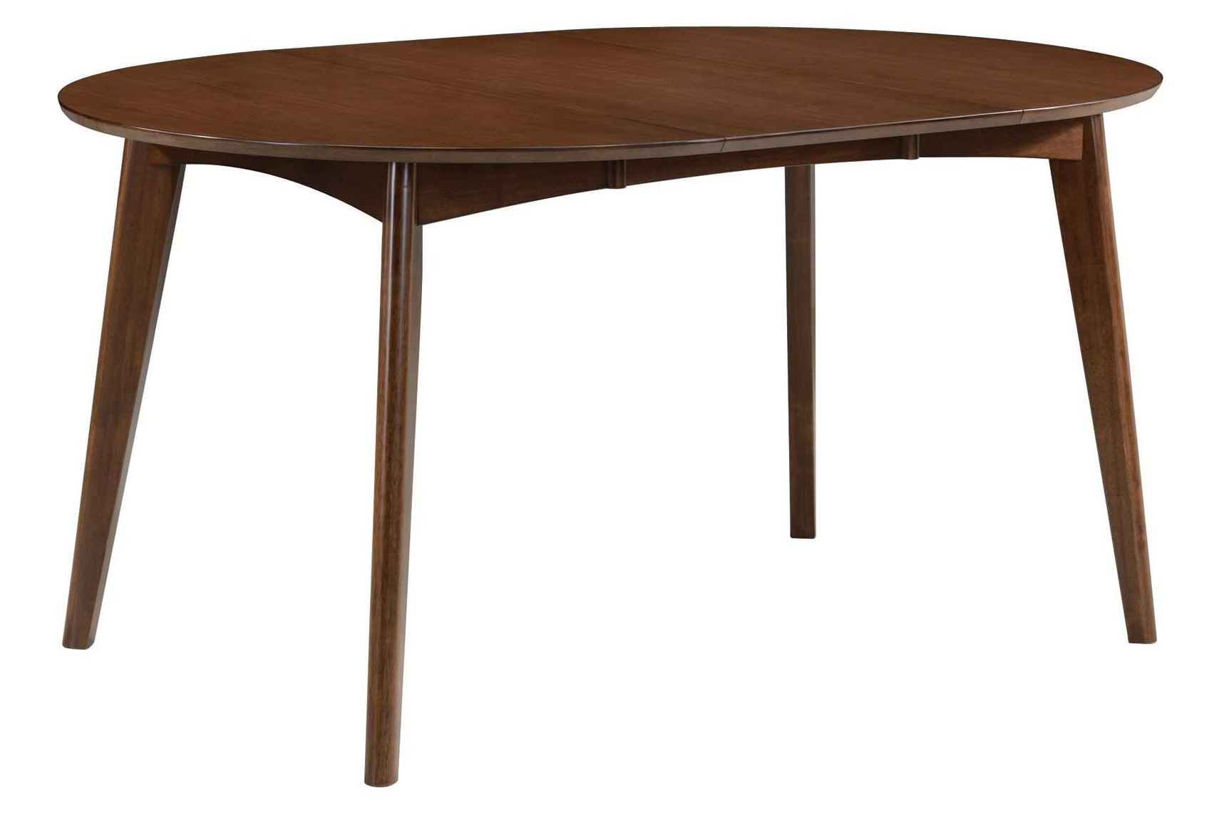 Round Expandable Dining Table Malone Extendable