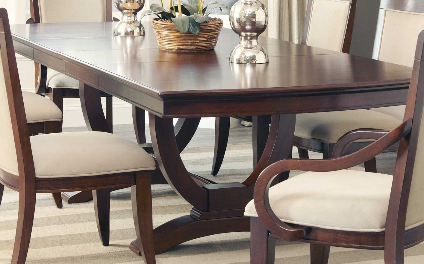 Alyssa rectangular extendable dining table from coaster 105441 coleman furniture - Rectangular dining table for 6 ...