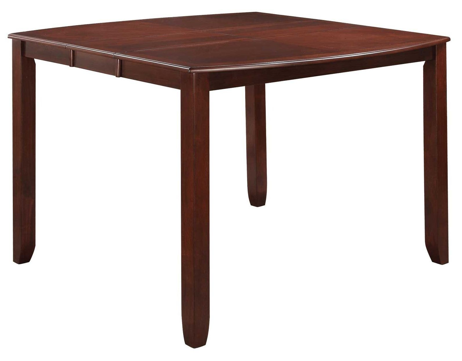 Dupree extendable square counter height table from coaster for Square counter height table