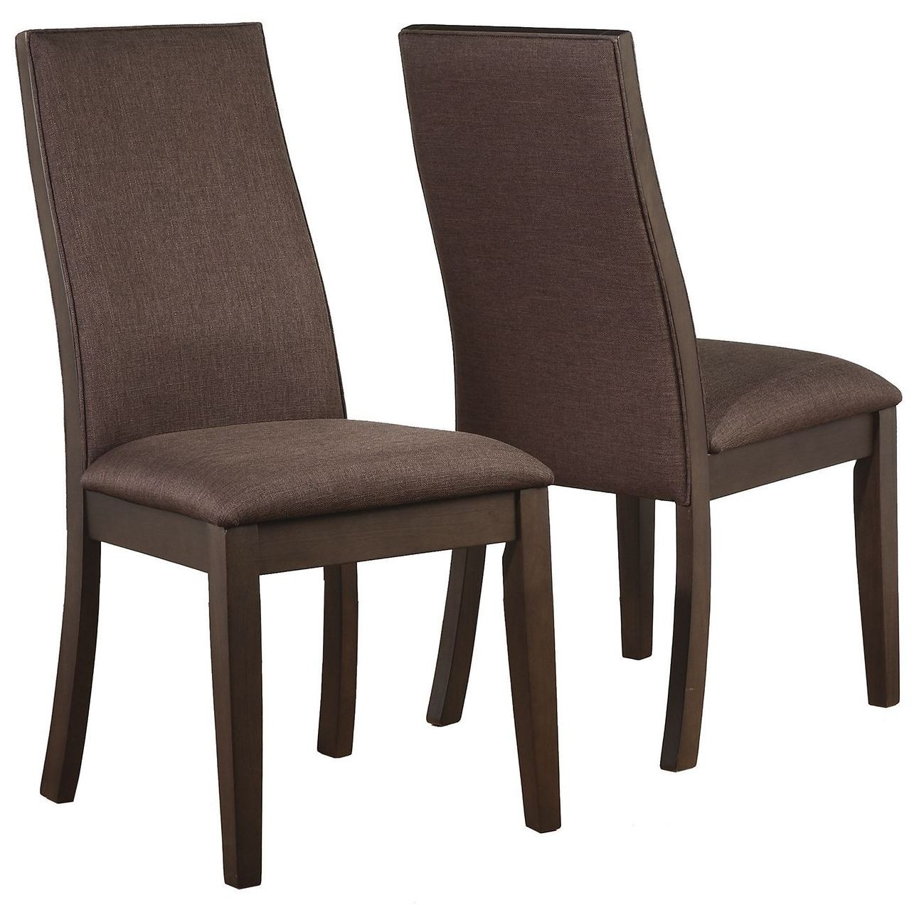 Spring Creek Brown Espresso Dining Chair Set