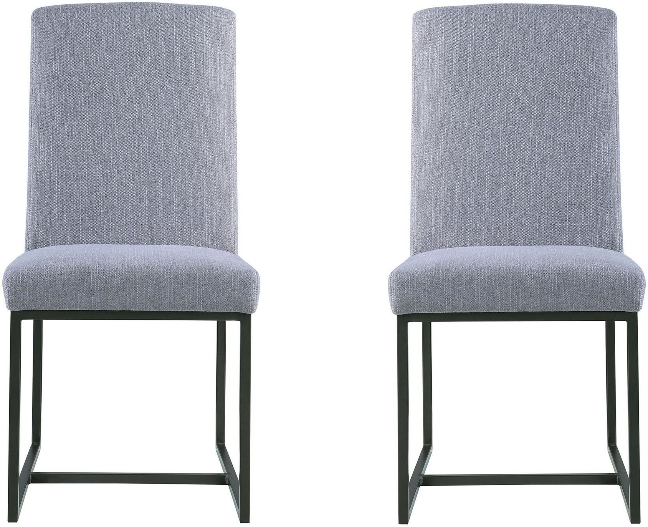 City Chic Dark Bronze Uphostered Dining Chair By Donny Osmond Set Of 2 From Coaster Coleman