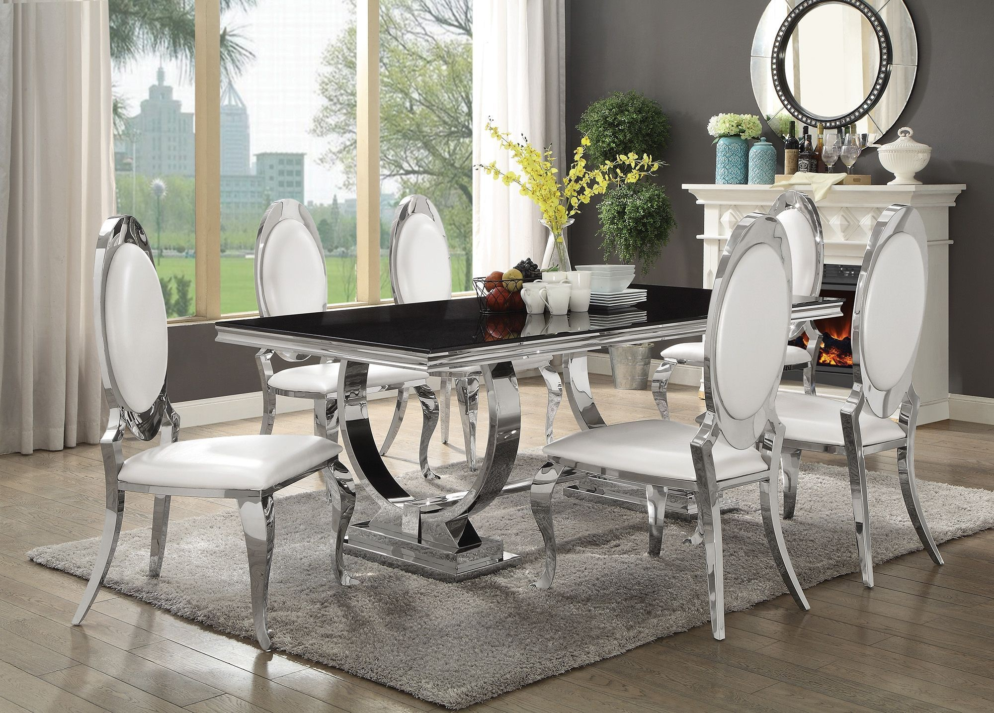 Coaster Furniture Kitchen Table And Chairs