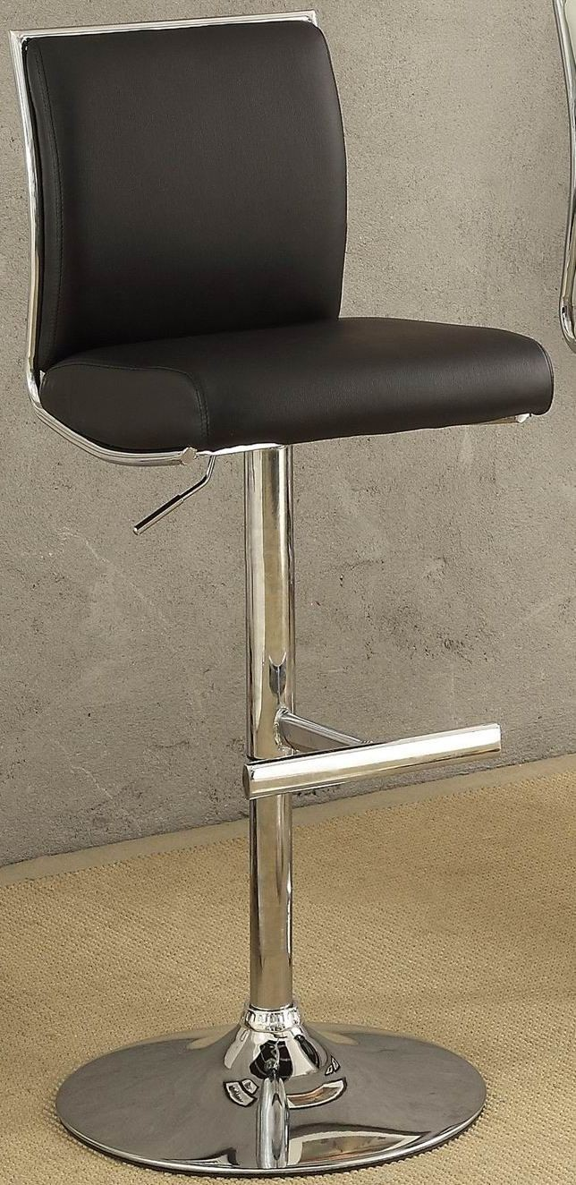Corbin Black Airlift Swivel Stool Set Of 2 From