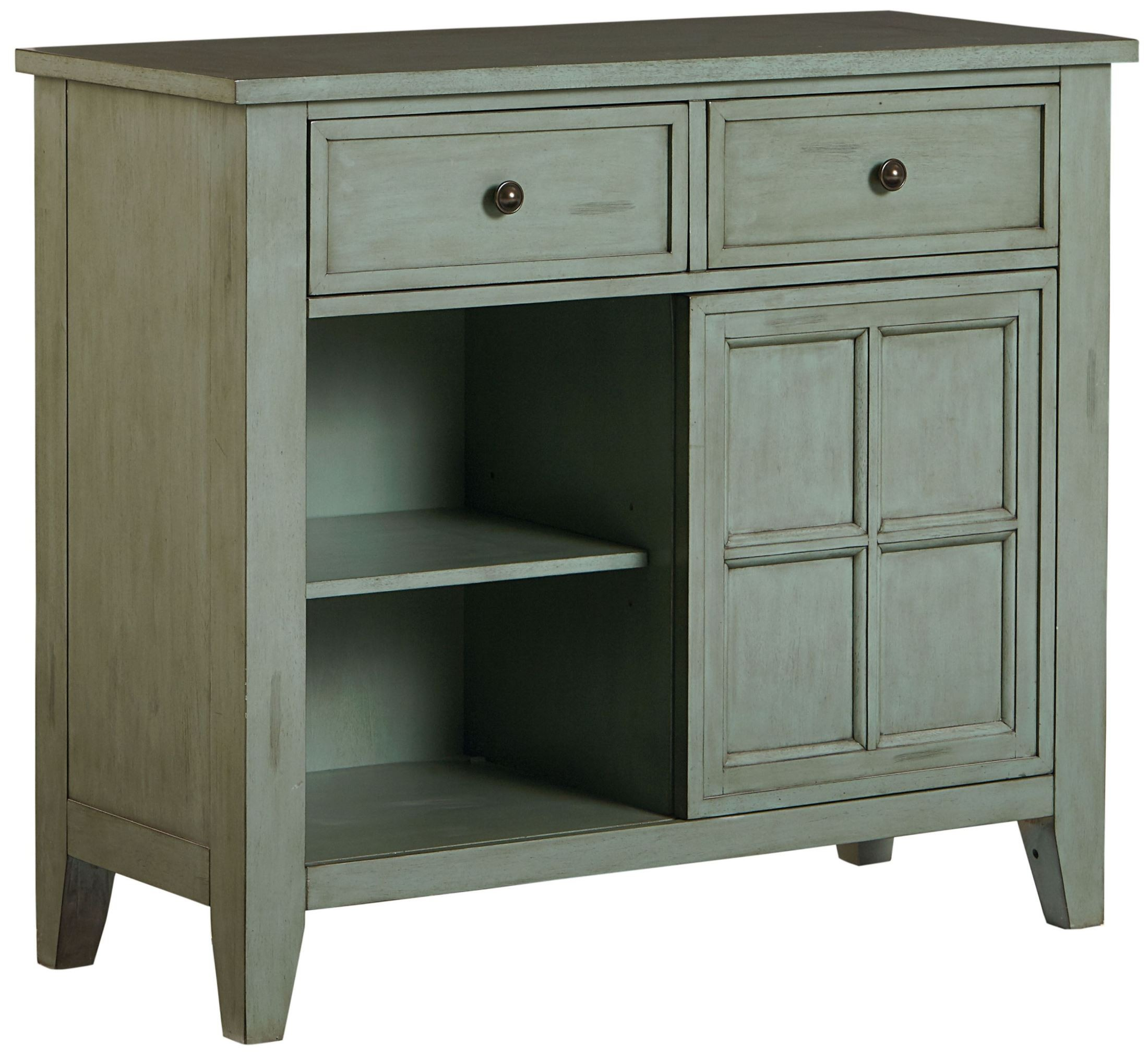 vintage antique blue sliding door sideboard 11322. Black Bedroom Furniture Sets. Home Design Ideas