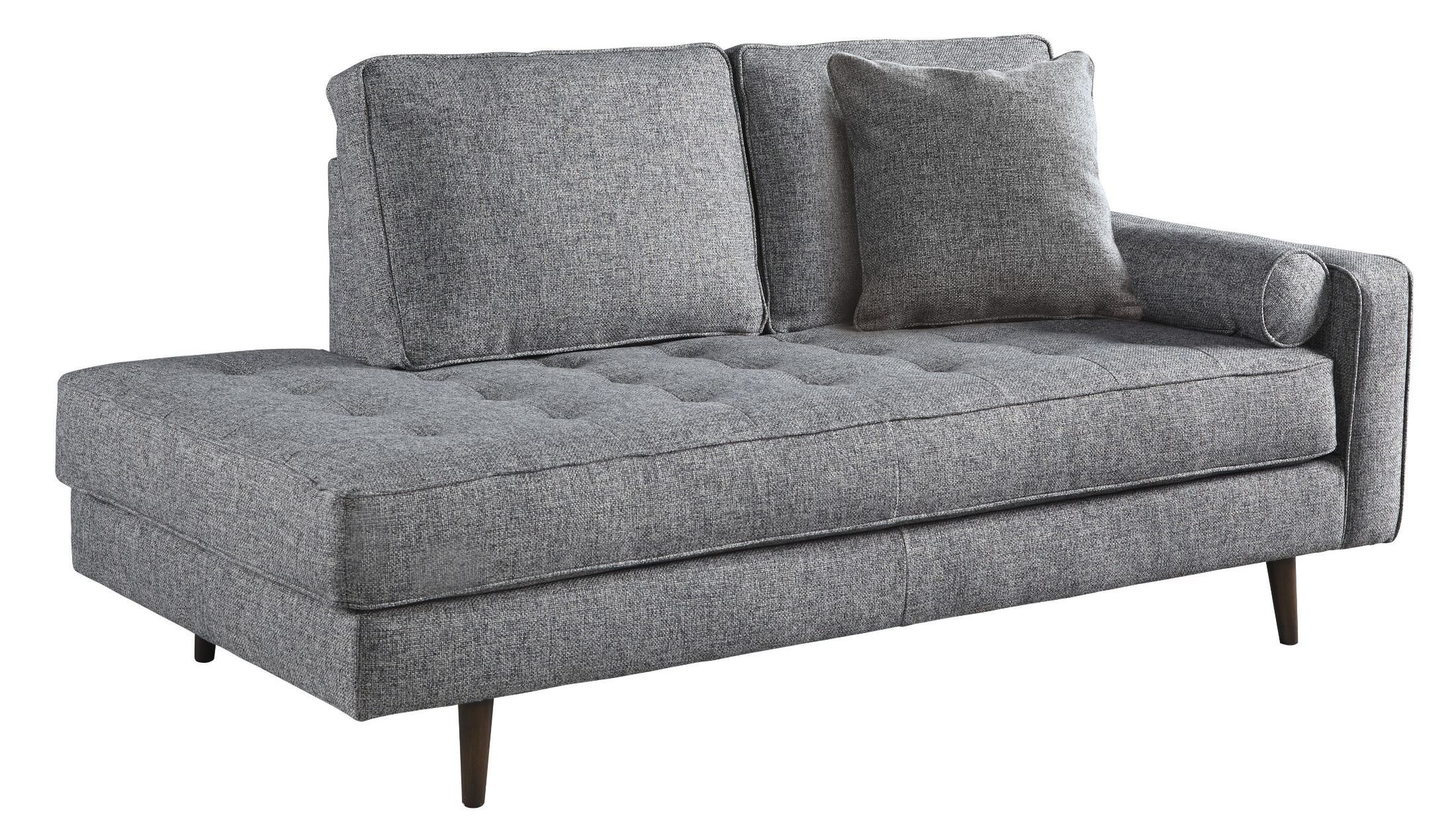 Zardoni Charcoal RAF Corner Chaise  sc 1 st  Coleman Furniture : discount chaise lounge - Sectionals, Sofas & Couches