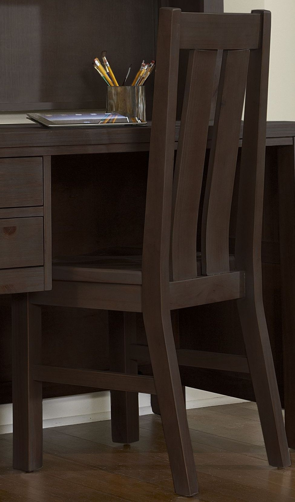 Exceptionnel X. Highlands Espresso Desk Chair