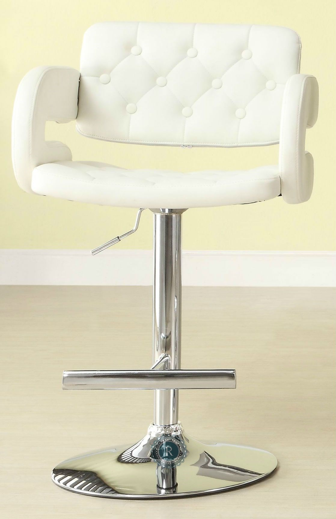 Ride White Airlift Swivel Stool Set of 2 from Homelegance  : 1178wht from colemanfurniture.com size 1118 x 1729 jpeg 158kB
