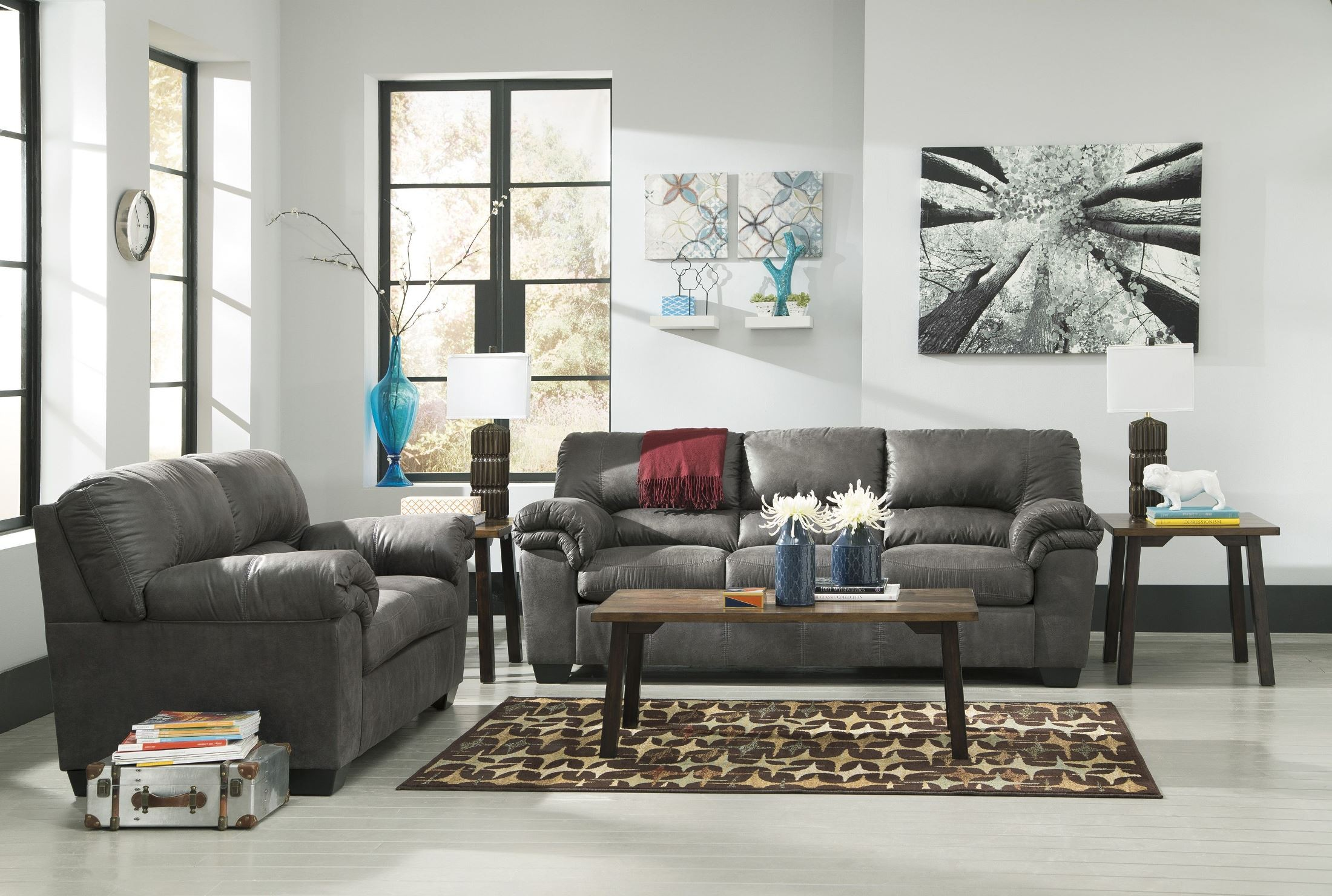 Bladen Slate Living Room Set From Ashley 1200138