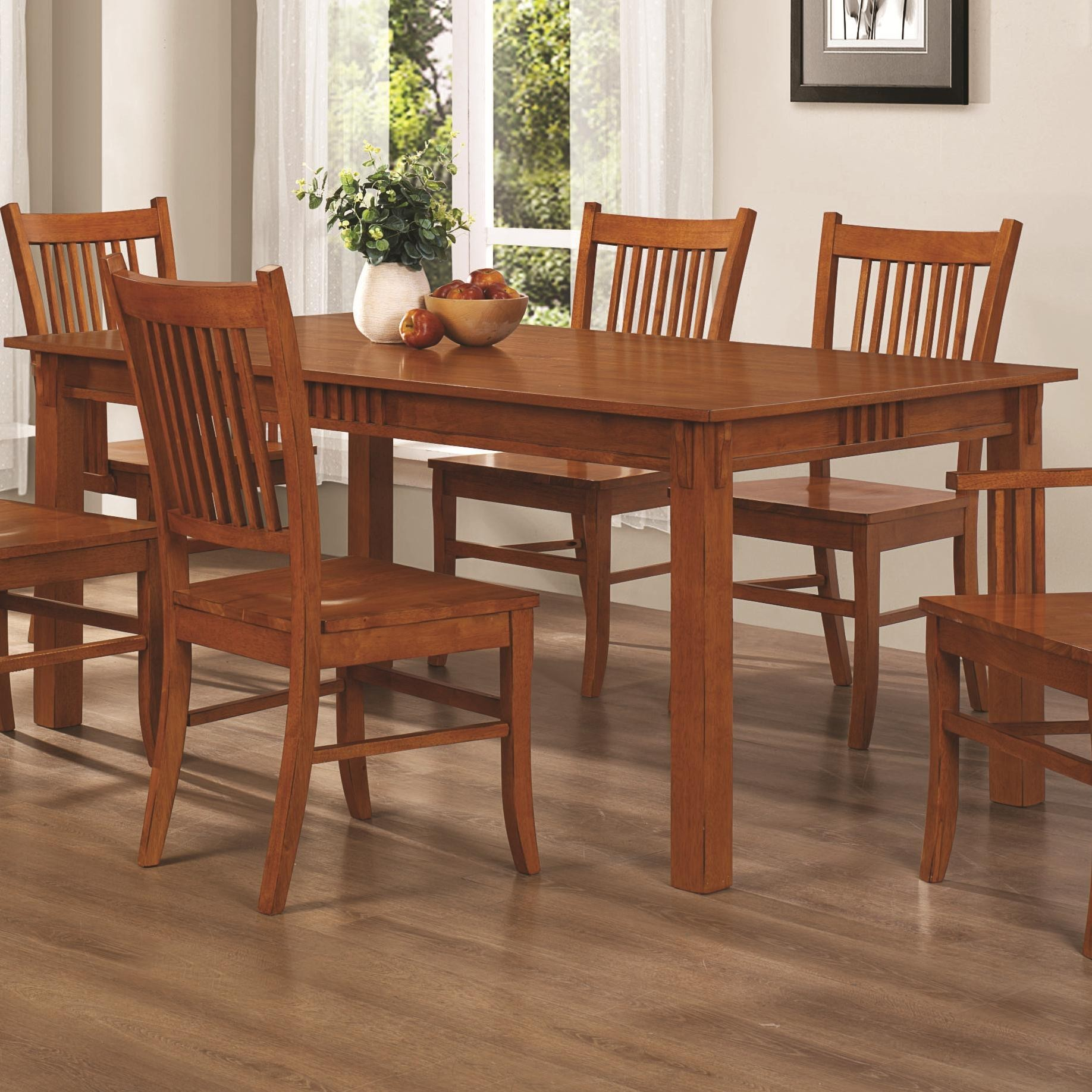 Marbrisa Rectangular Dining Table from Coaster 100621  : 1201 1 from colemanfurniture.com size 1836 x 1836 jpeg 486kB