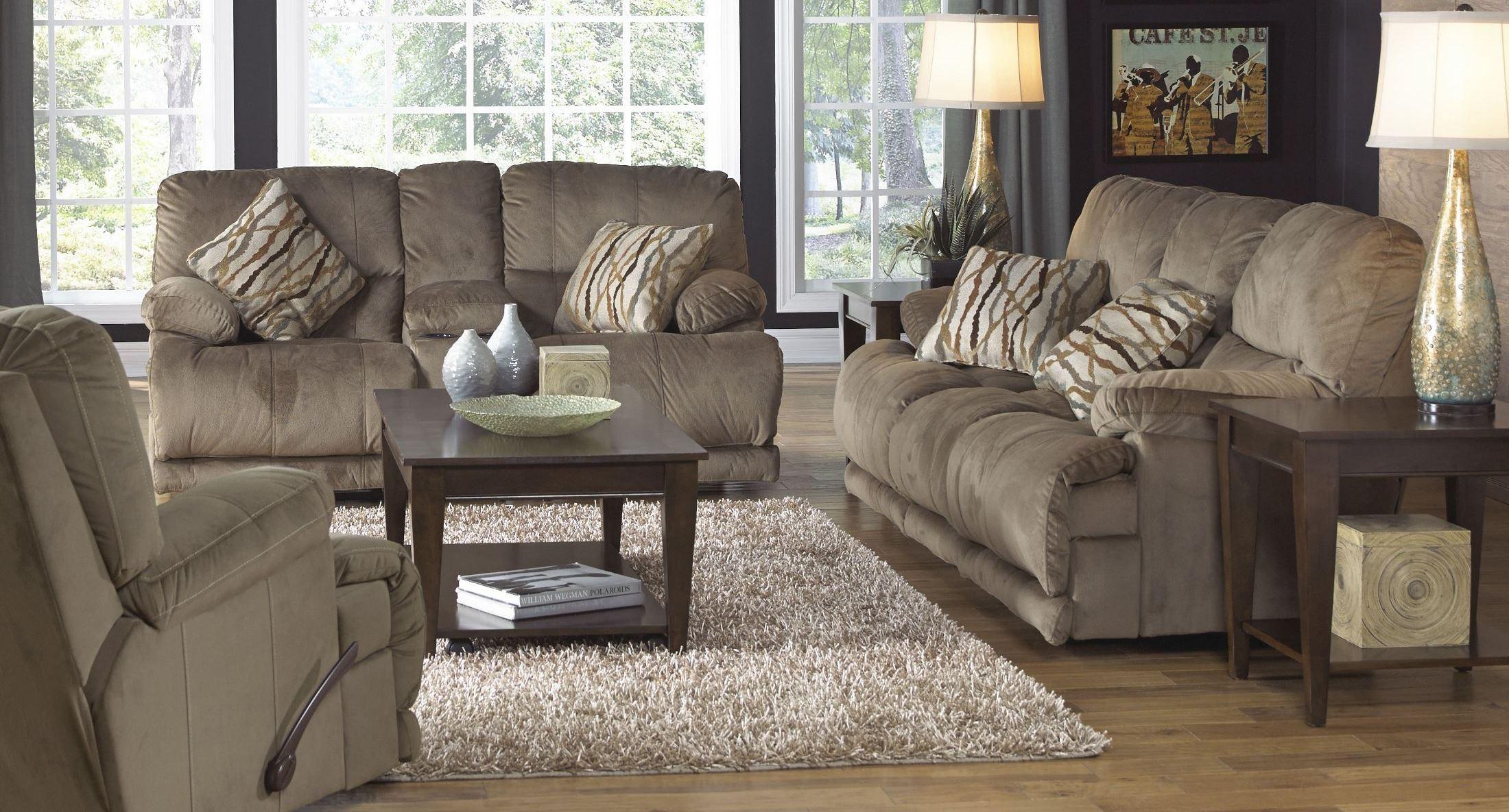 Riley Musk Reclining Living Room Set From Catnapper