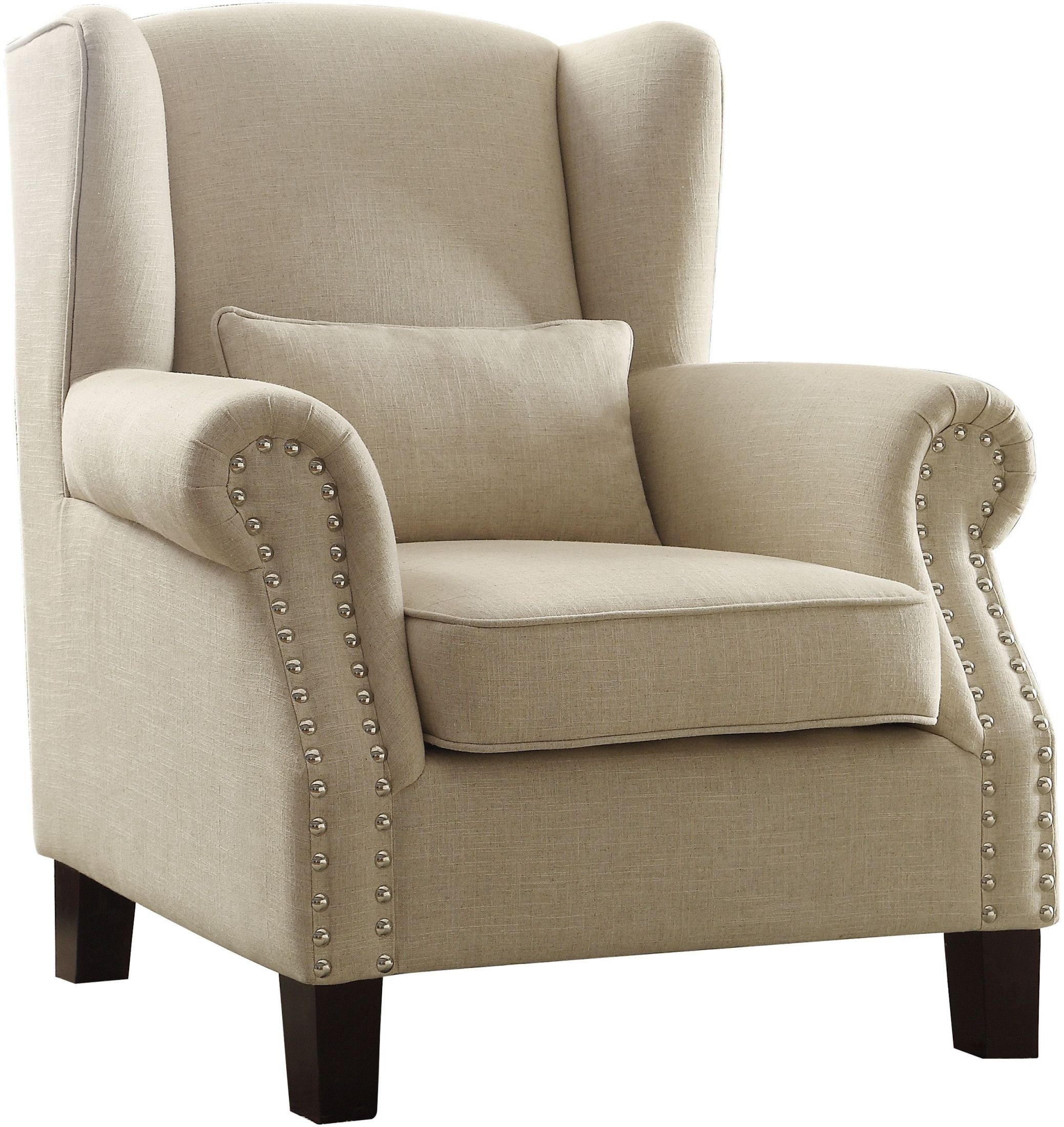 Adelaide Linen Accent Chair from Homelegance