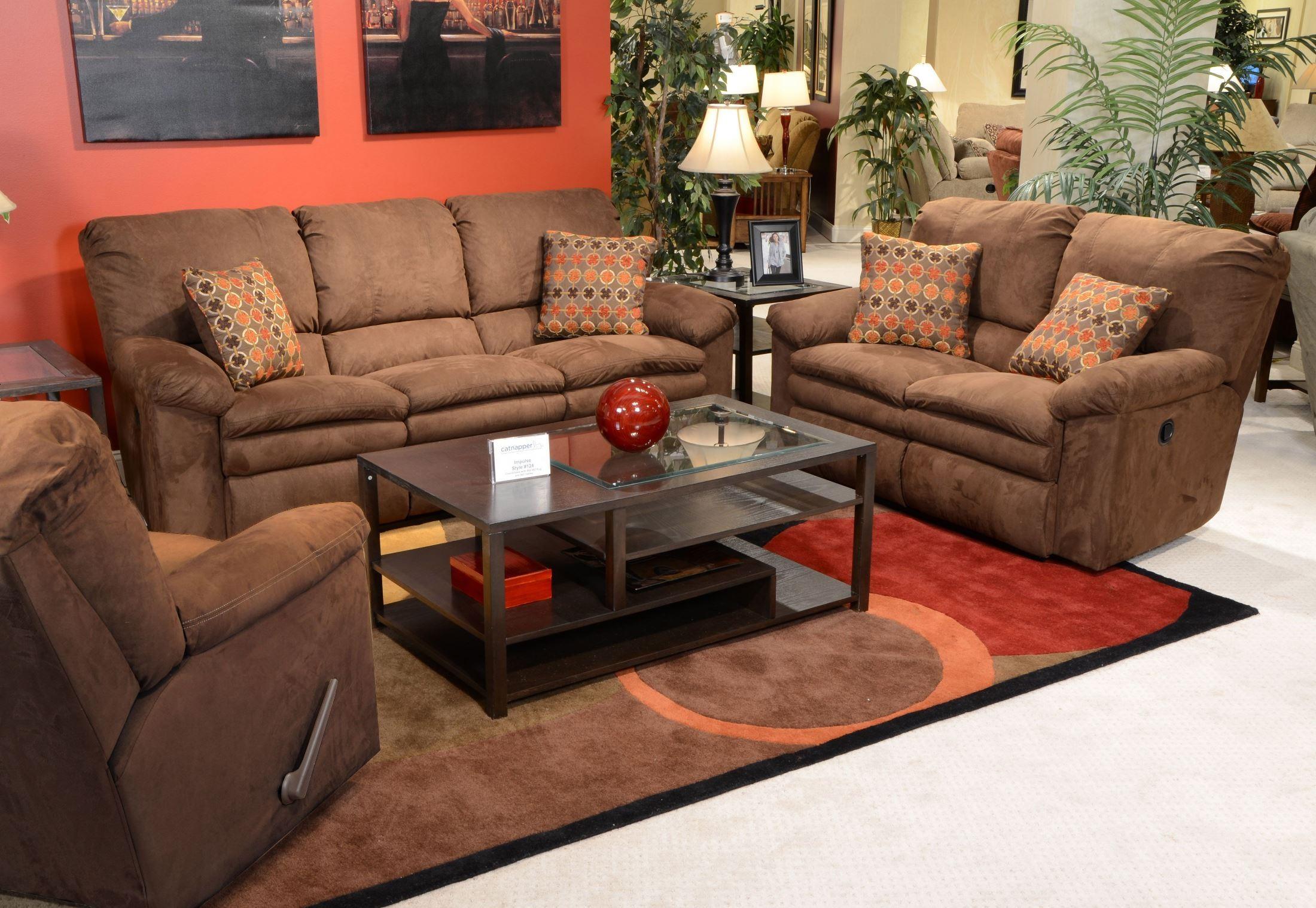 Impulse Godiva Power Reclining Living Room Set From