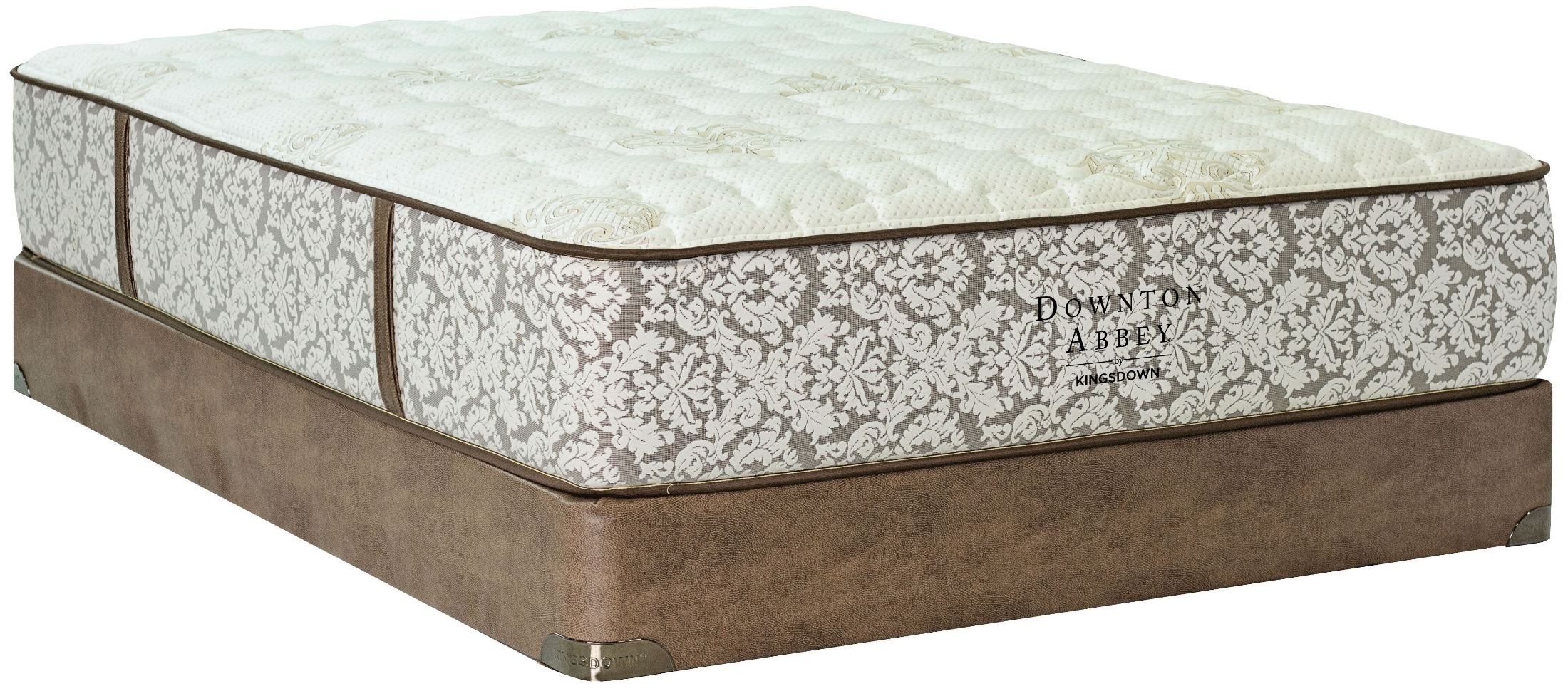 Downton Abbey Edwardian Lace V Luxury Cal King Mattress With Foundation From Kingsdown