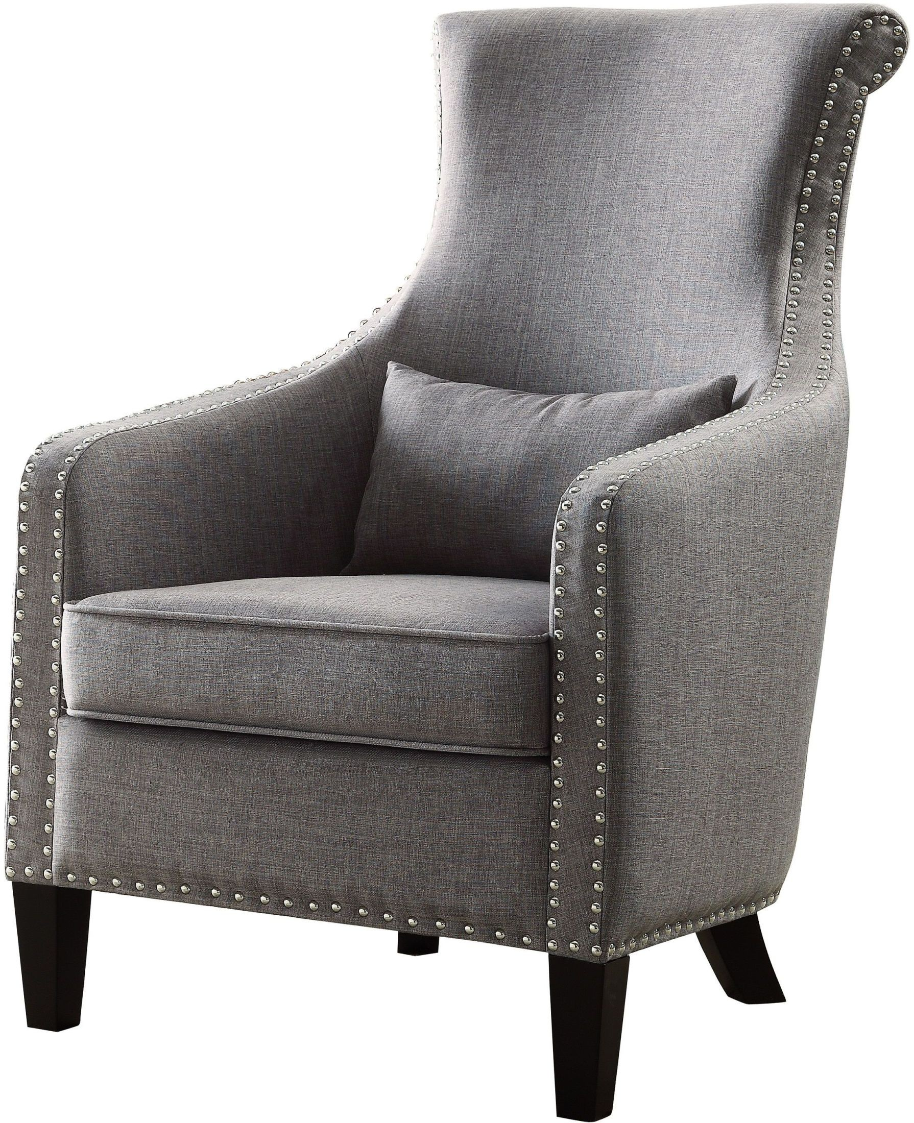 Arles Grey Accent Chair From Homelegance