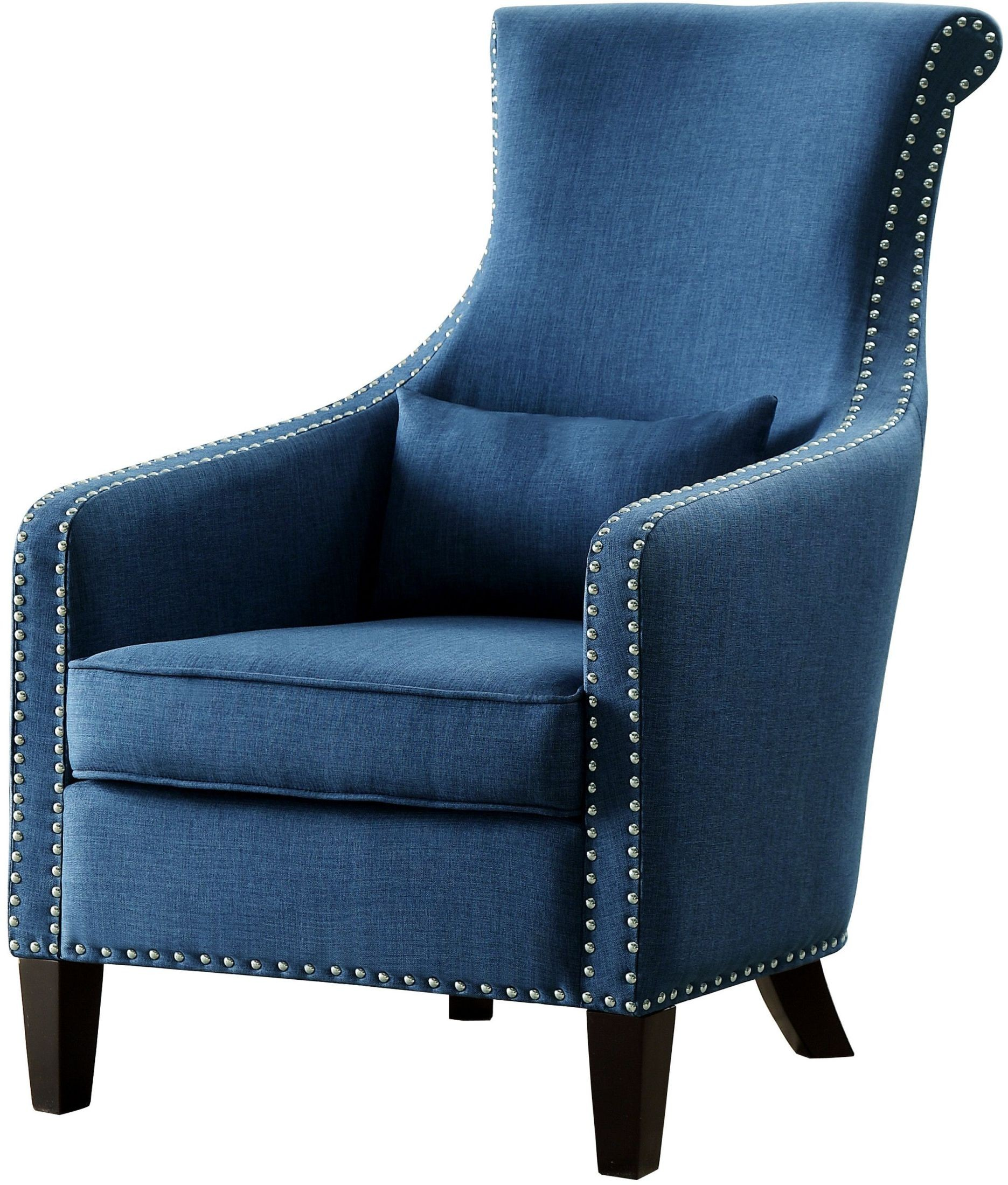 Arles Blue Accent Chair From Homelegance Coleman Furniture