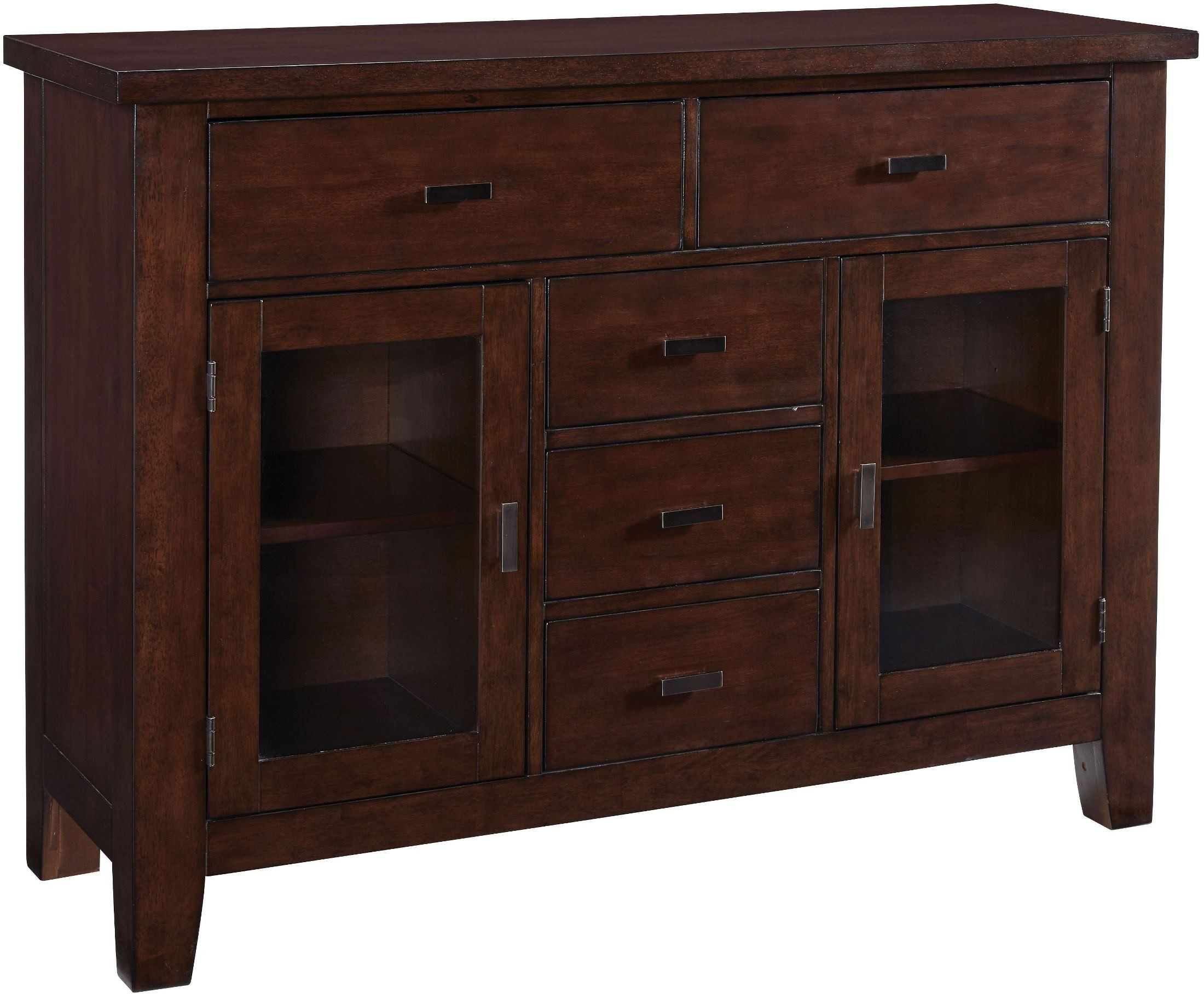 Barclay Burnished Dark Brown Sideboard From Standard Furniture Coleman Furniture