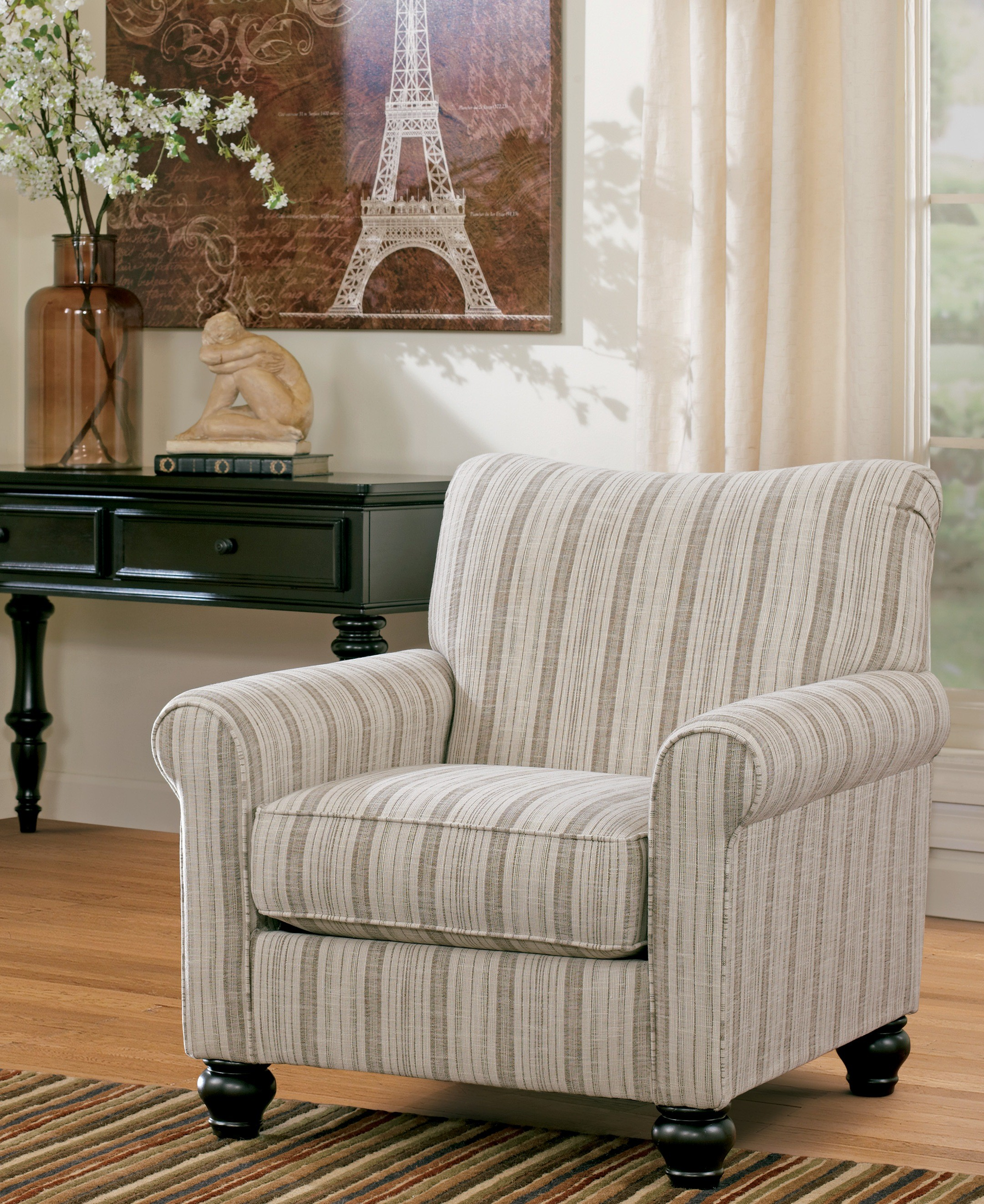 Milari Linen Accent Chair From Ashley (1300021)